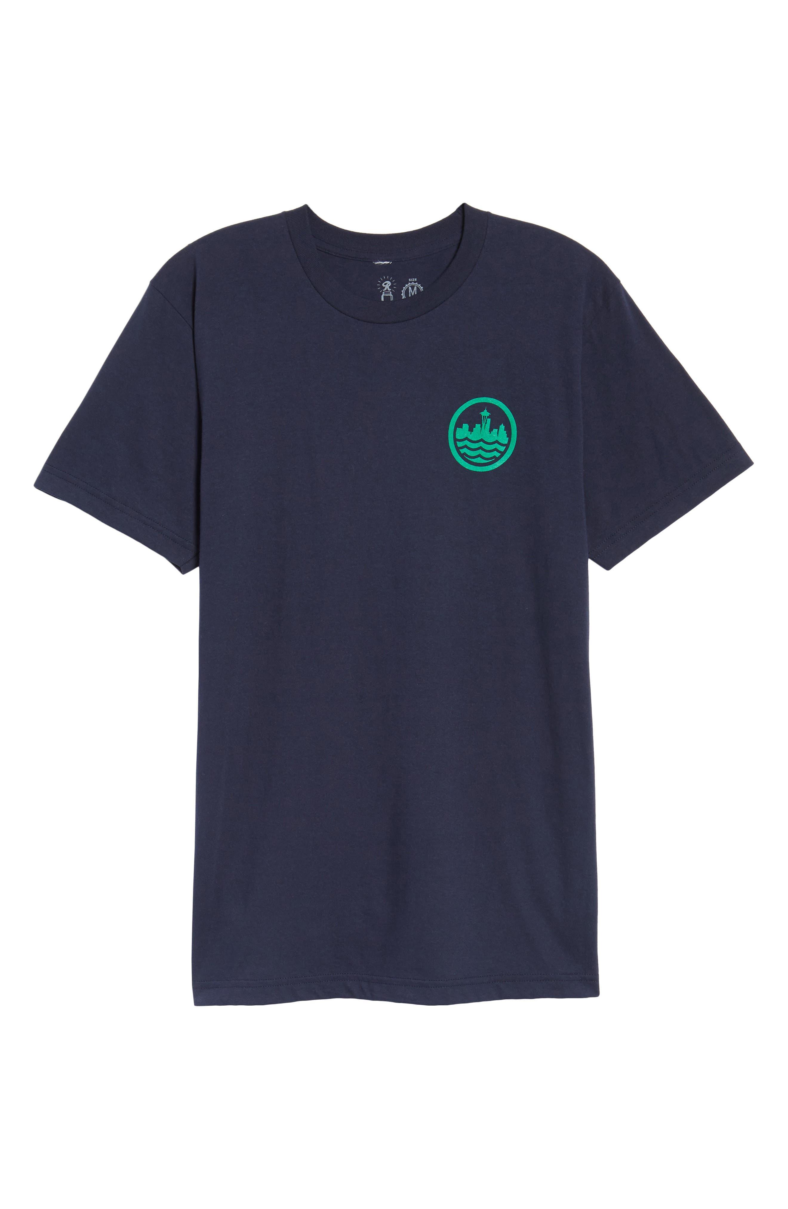 Sea Graphic T-Shirt,                             Alternate thumbnail 12, color,