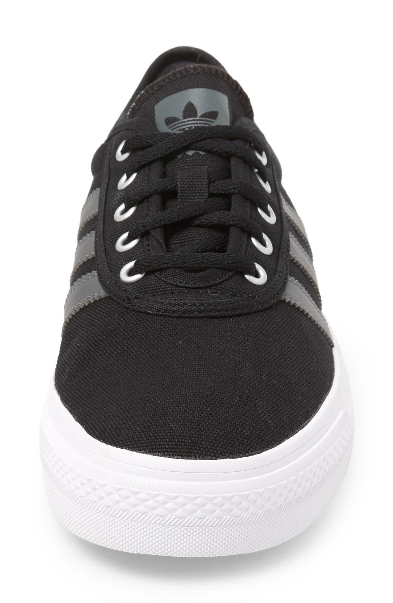 Adiease Skate Sneaker,                             Alternate thumbnail 4, color,                             001