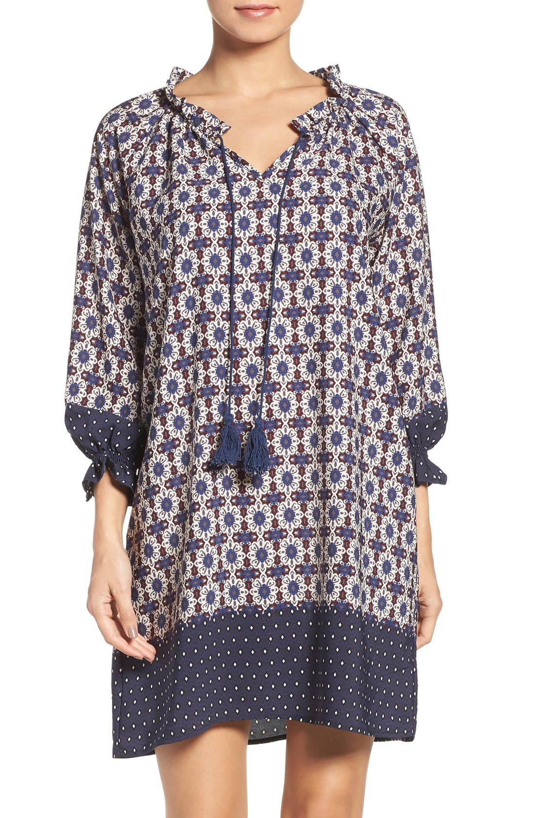 Catella Tunic Dress,                         Main,                         color, 410