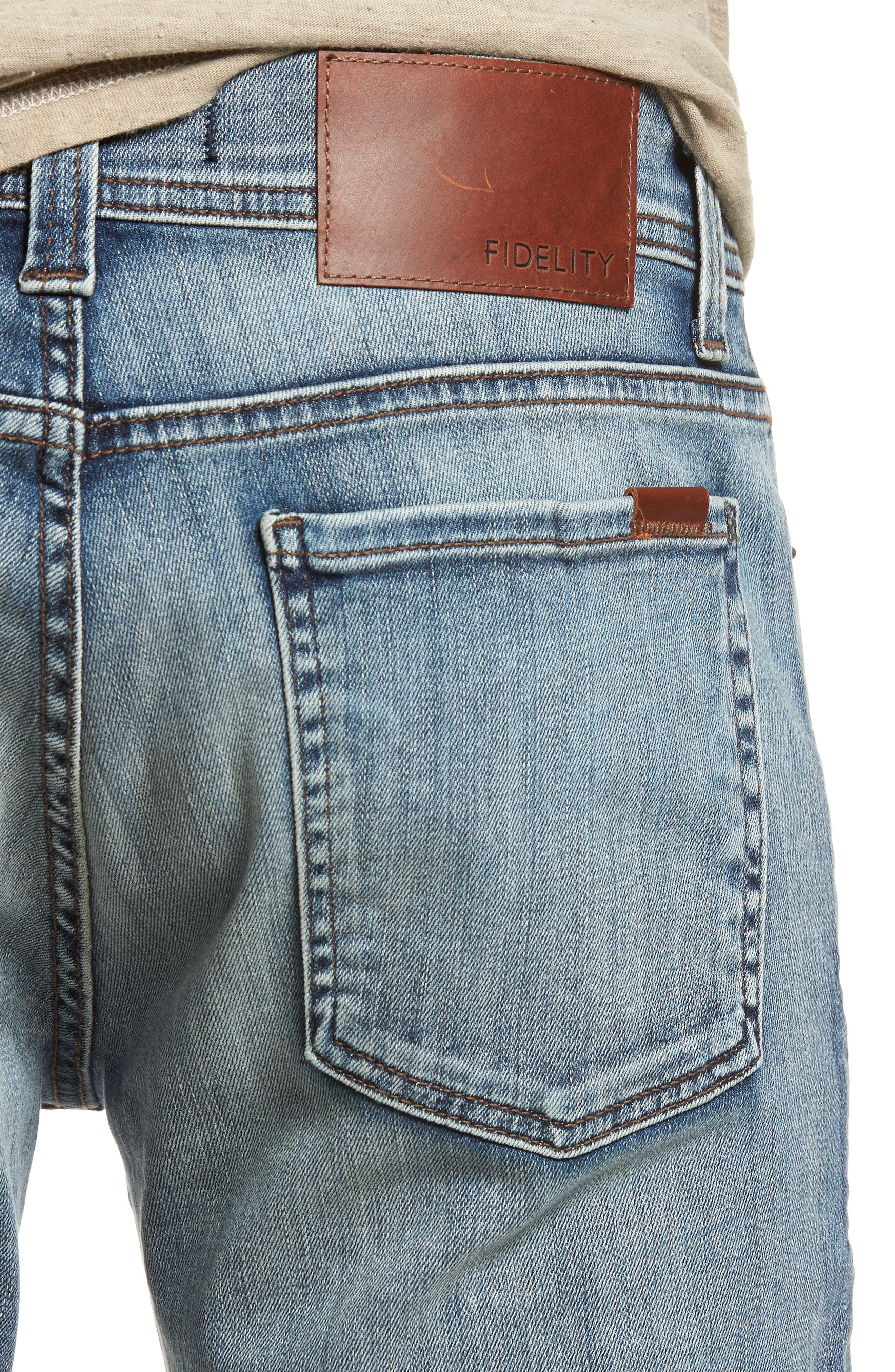 Jimmy Slim Fit Jeans,                             Alternate thumbnail 4, color,                             400