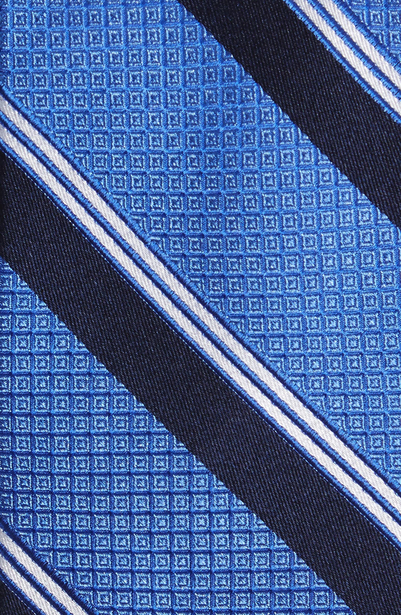 Stripe Silk Tie,                             Alternate thumbnail 6, color,