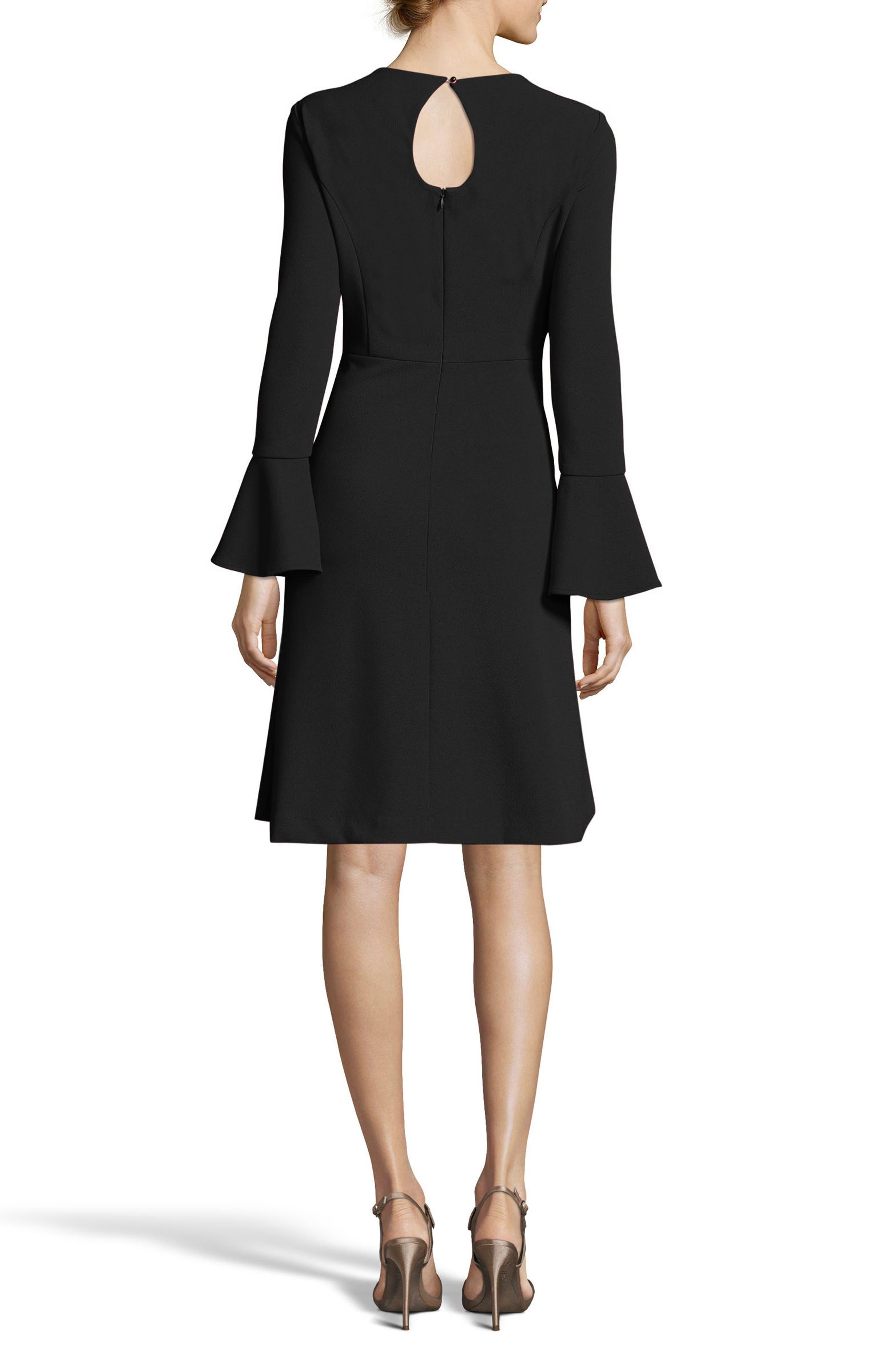 Fit & Flare Dress,                             Alternate thumbnail 4, color,