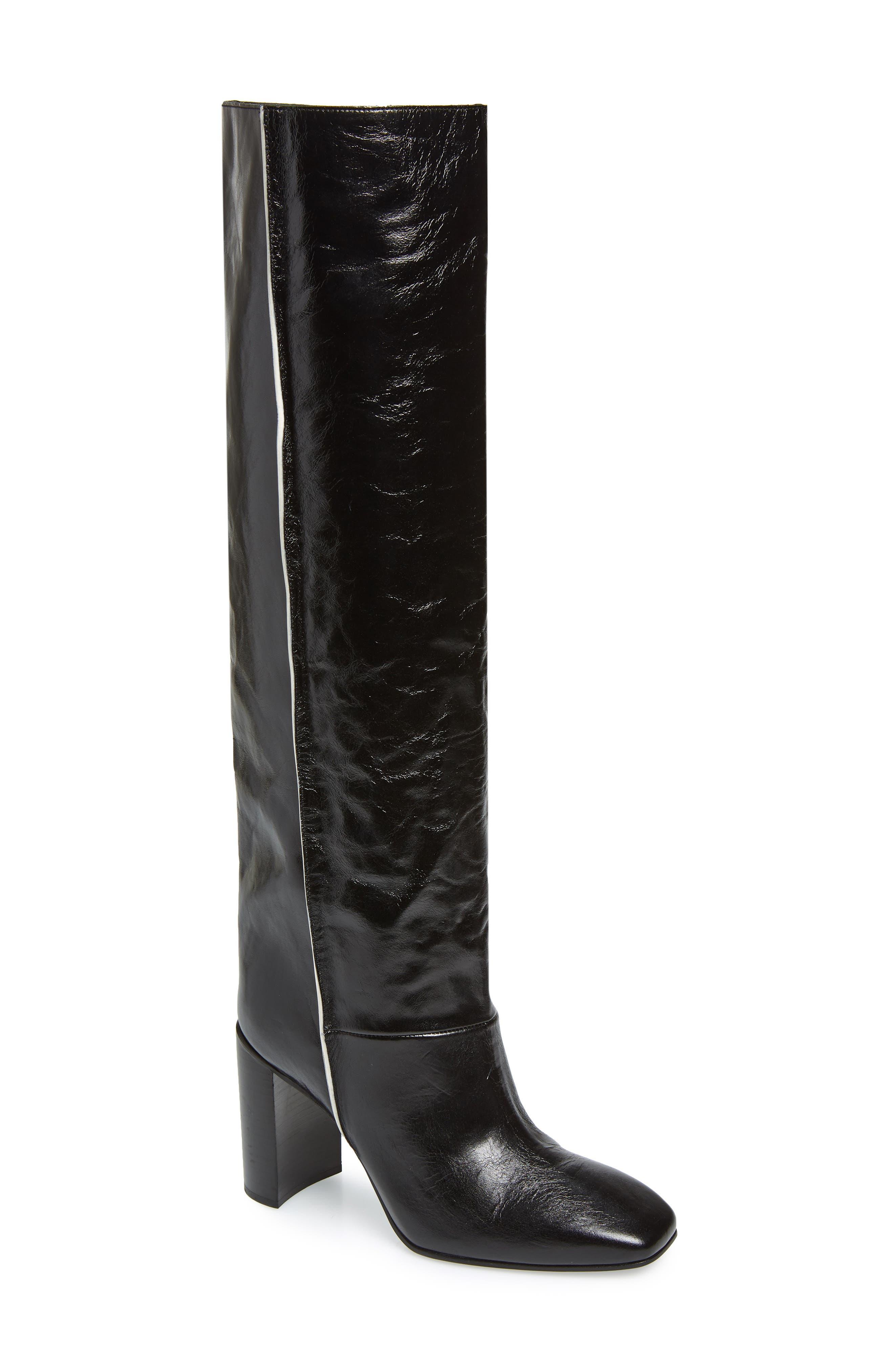 Rag & Bone Aslen Tall Boot, Black