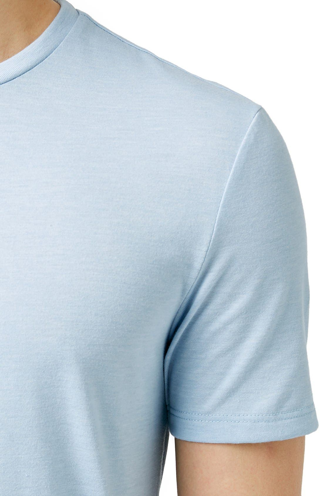 Slim Fit Crewneck T-Shirt,                             Alternate thumbnail 413, color,
