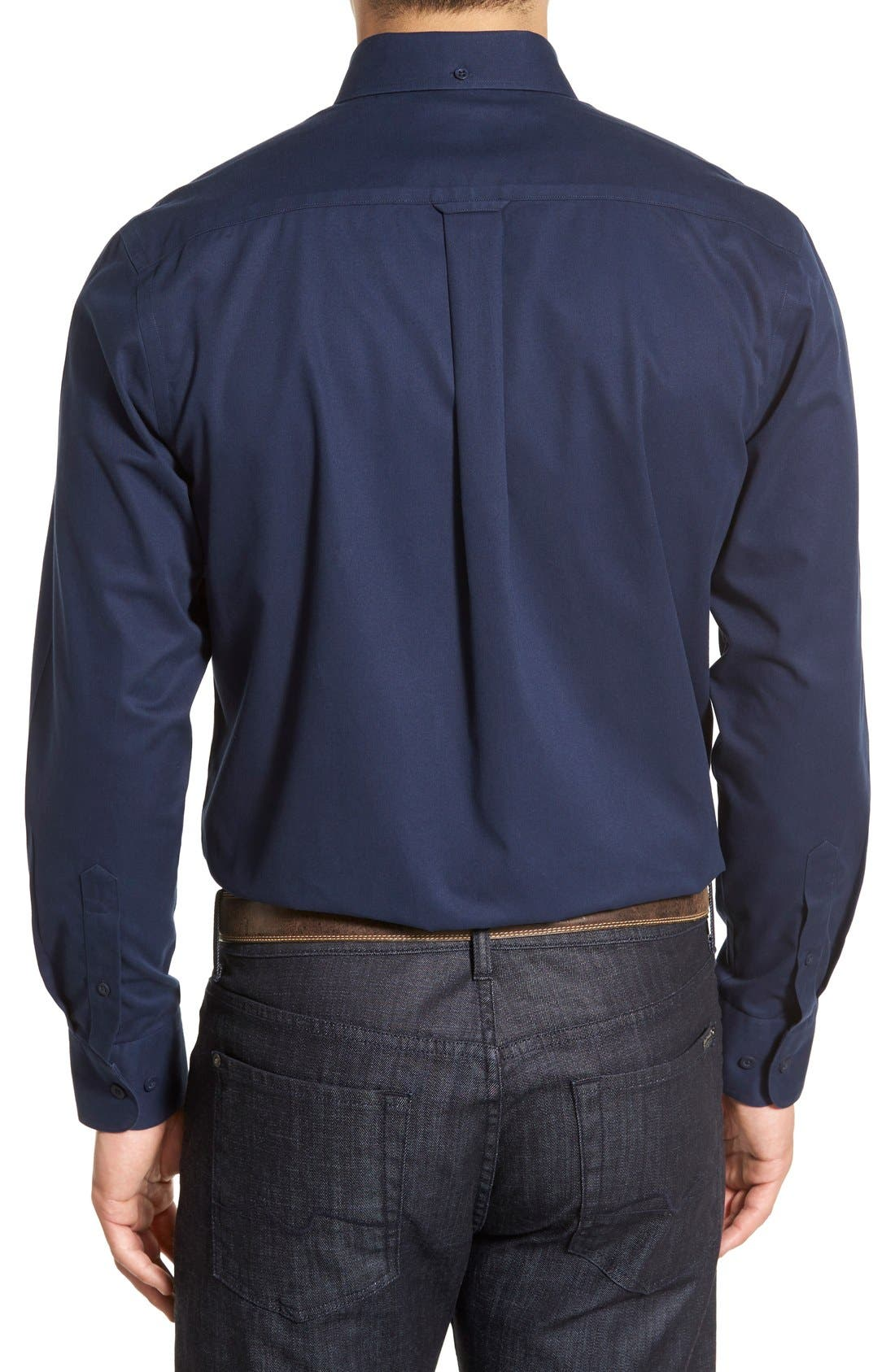 Smartcare<sup>™</sup> Traditional Fit Twill Boat Shirt,                             Alternate thumbnail 181, color,