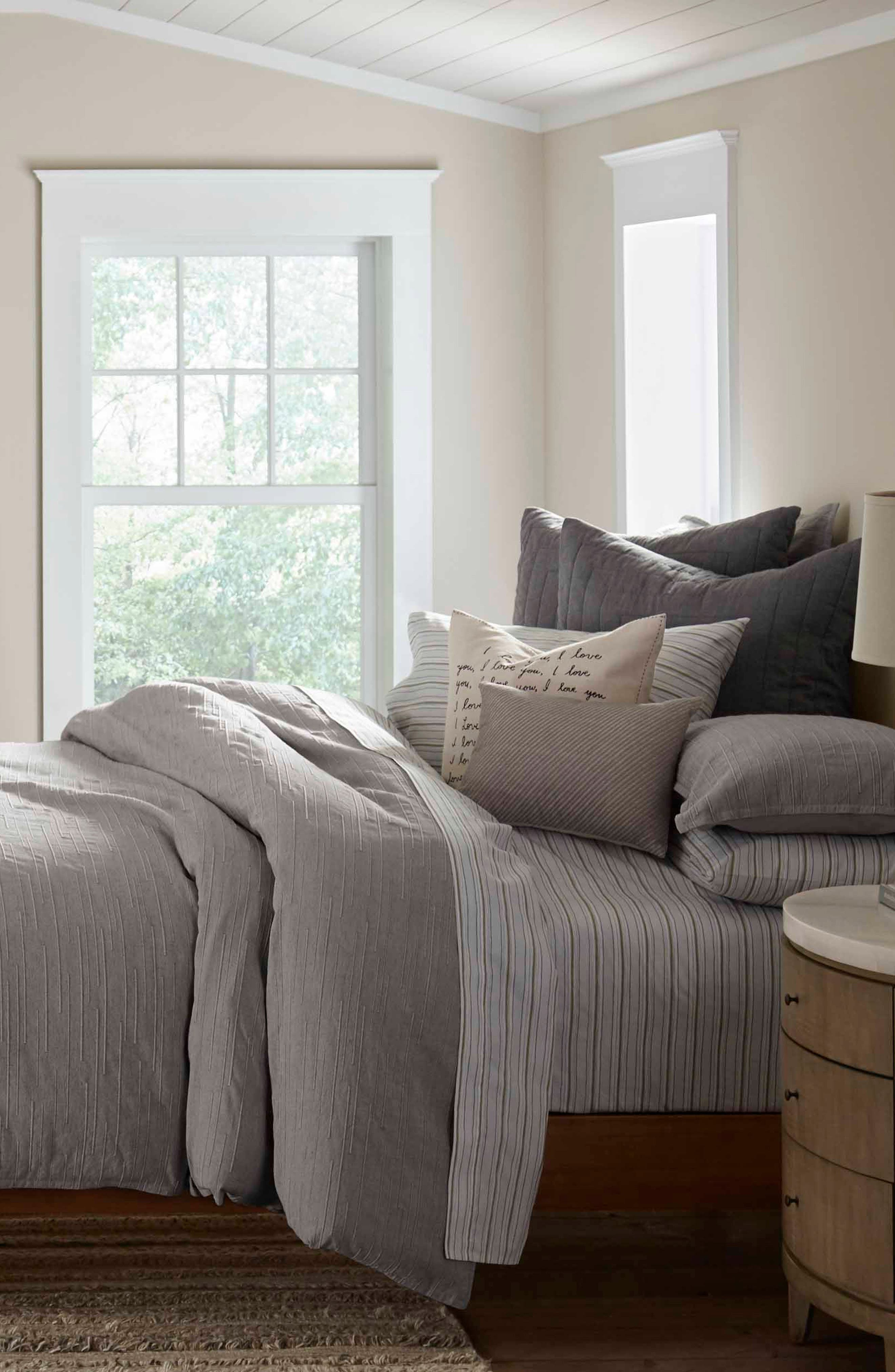 Tulare Comforter & Sham Set,                             Alternate thumbnail 3, color,                             NATURAL