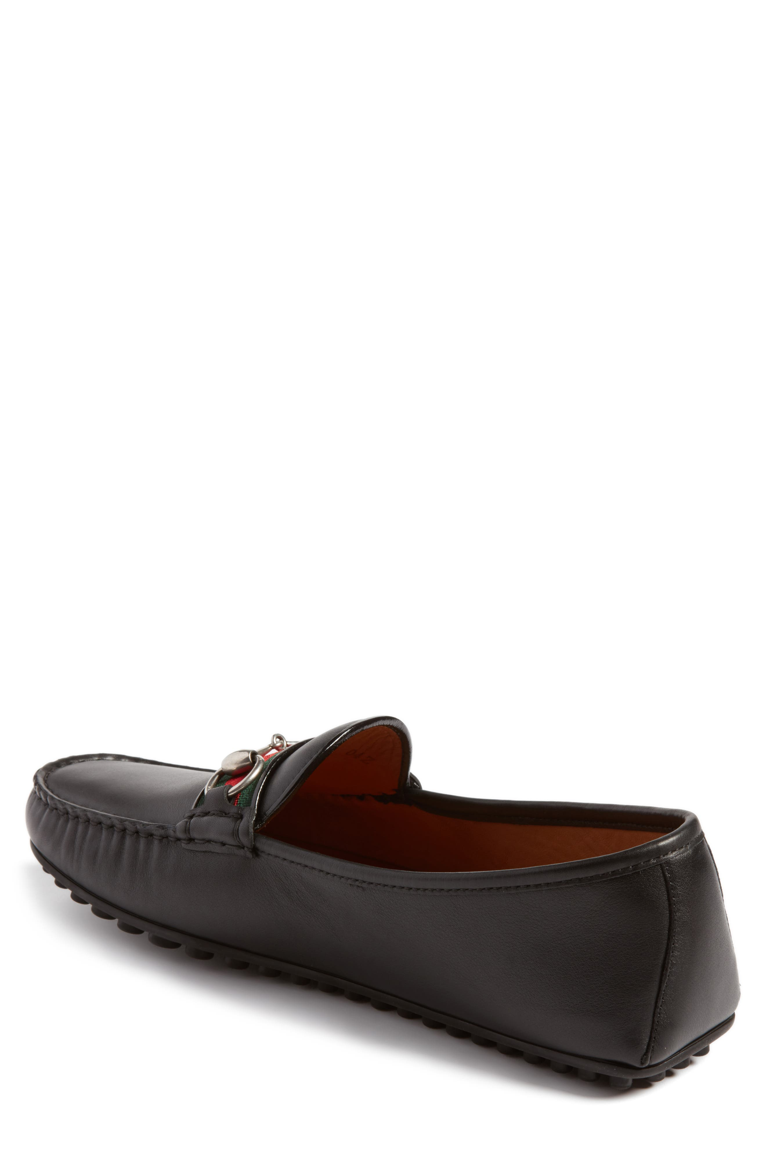 Kanye Bit Loafer,                             Alternate thumbnail 2, color,                             NERO LEATHER