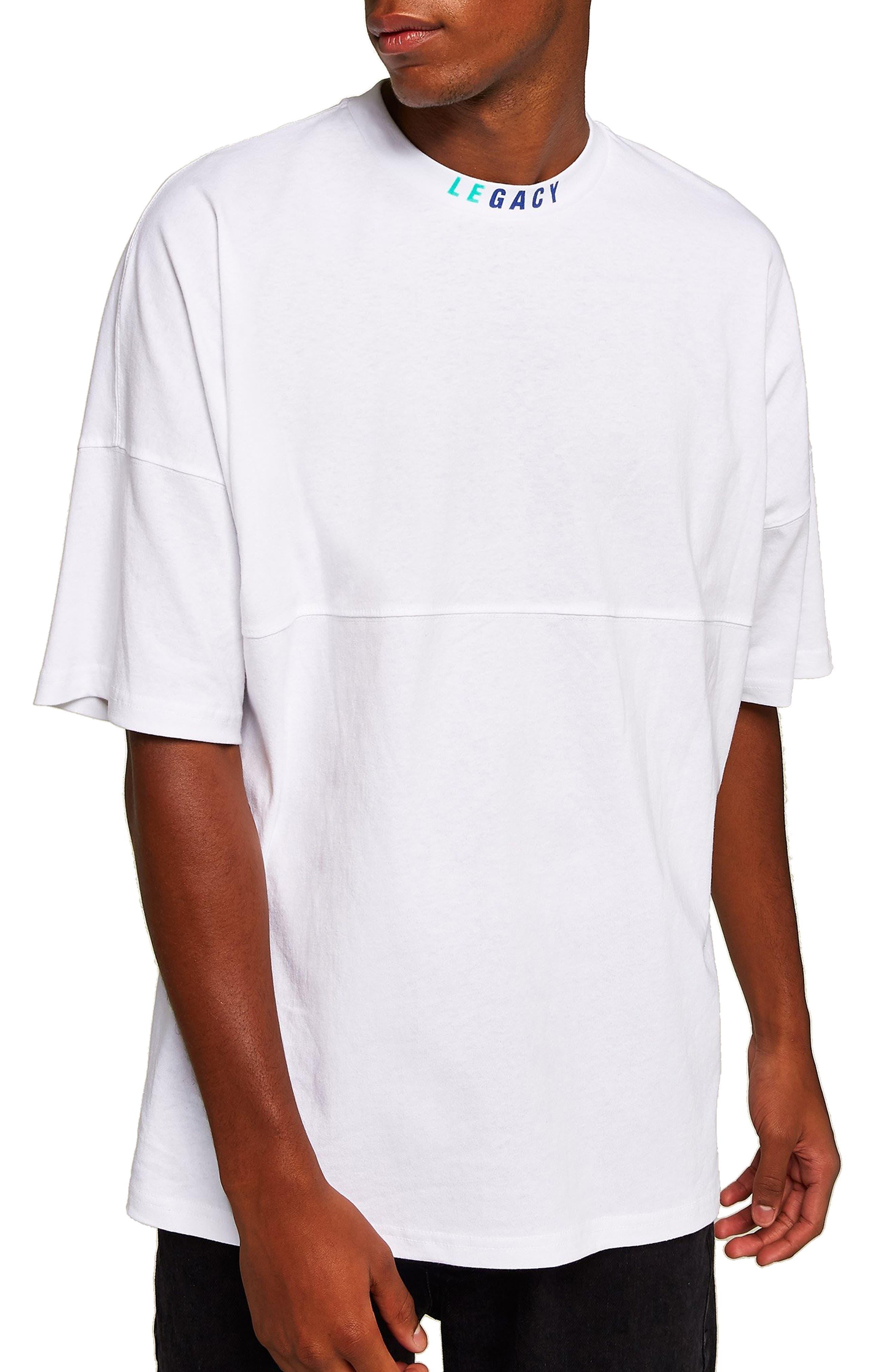 Topman Legacy Oversize T-Shirt, White
