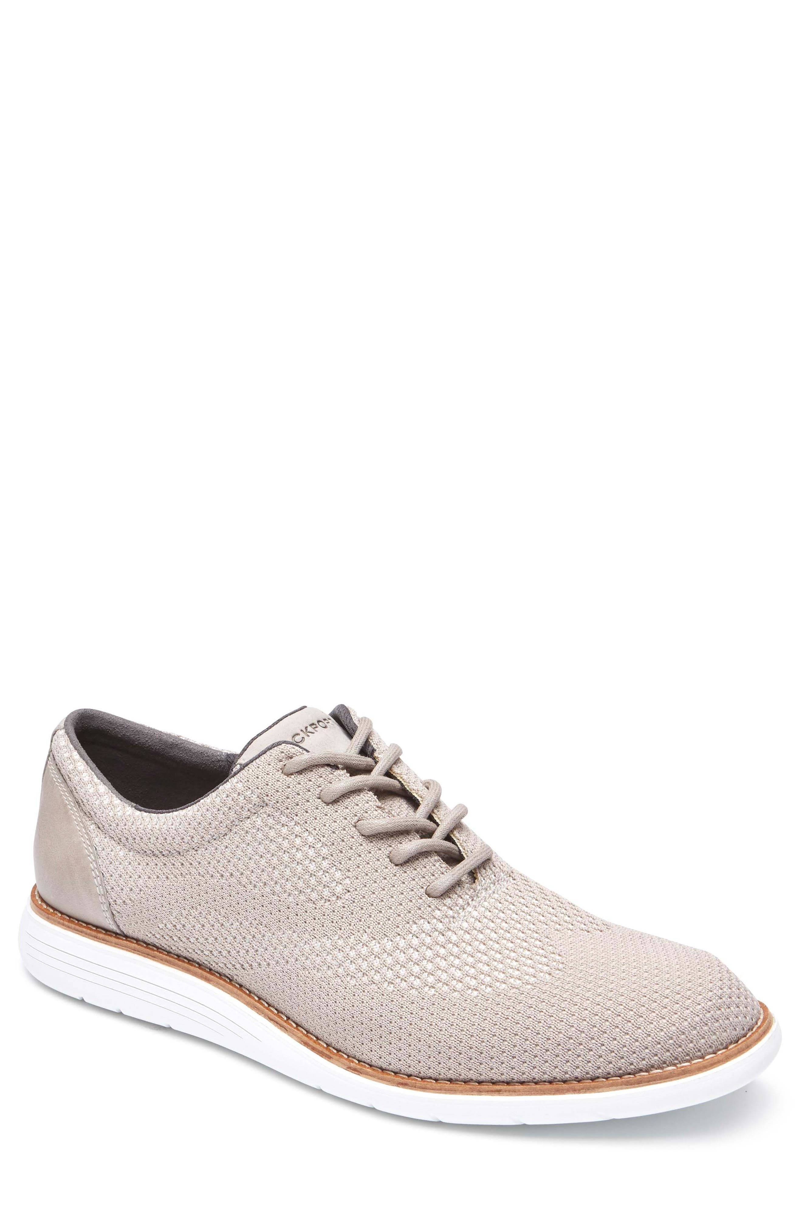 Total Motion Sport Oxford,                         Main,                         color, ROCKSAND LEATHER