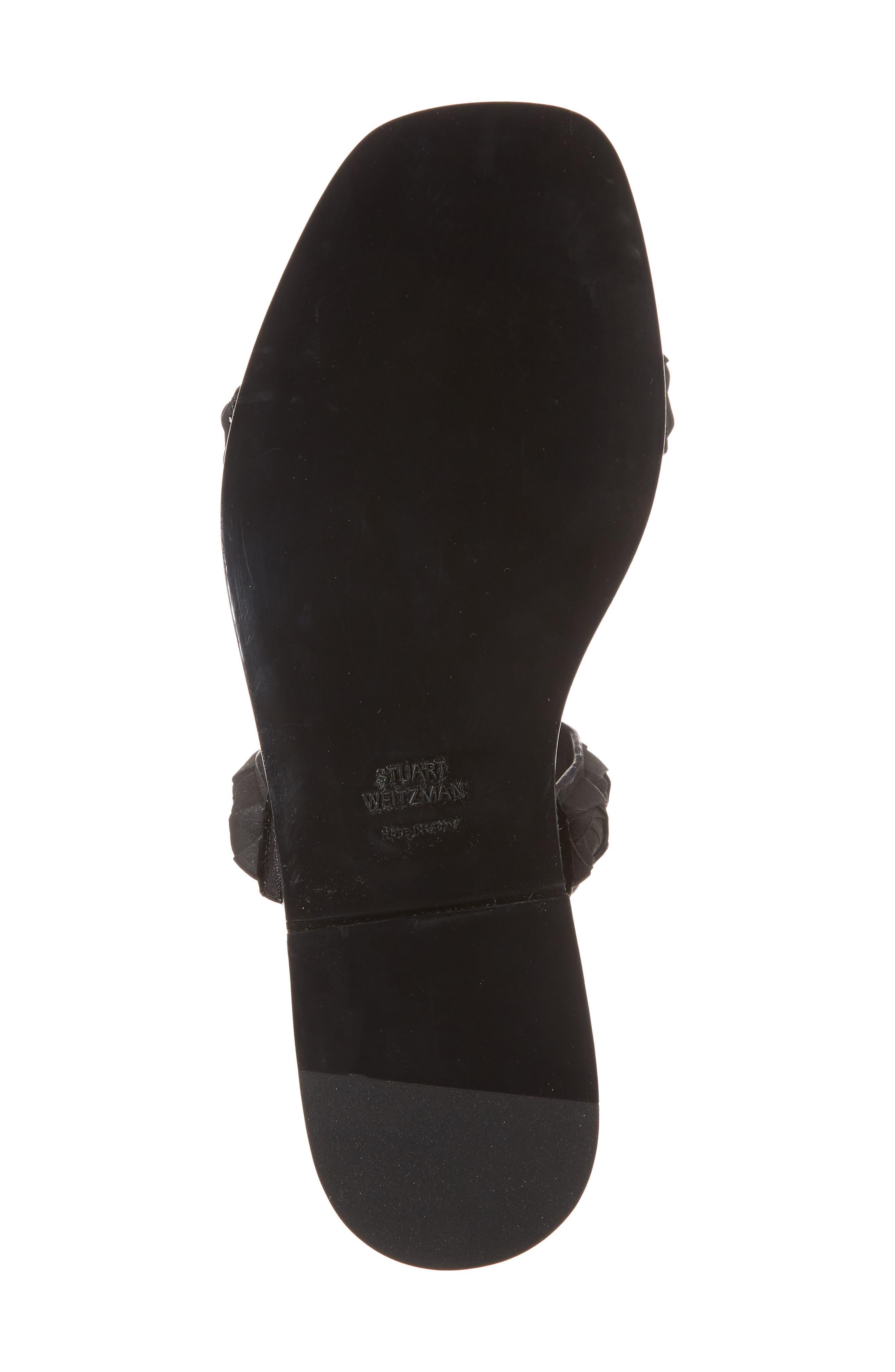 Rosita Dual Strap Slide Sandal,                             Alternate thumbnail 6, color,                             003