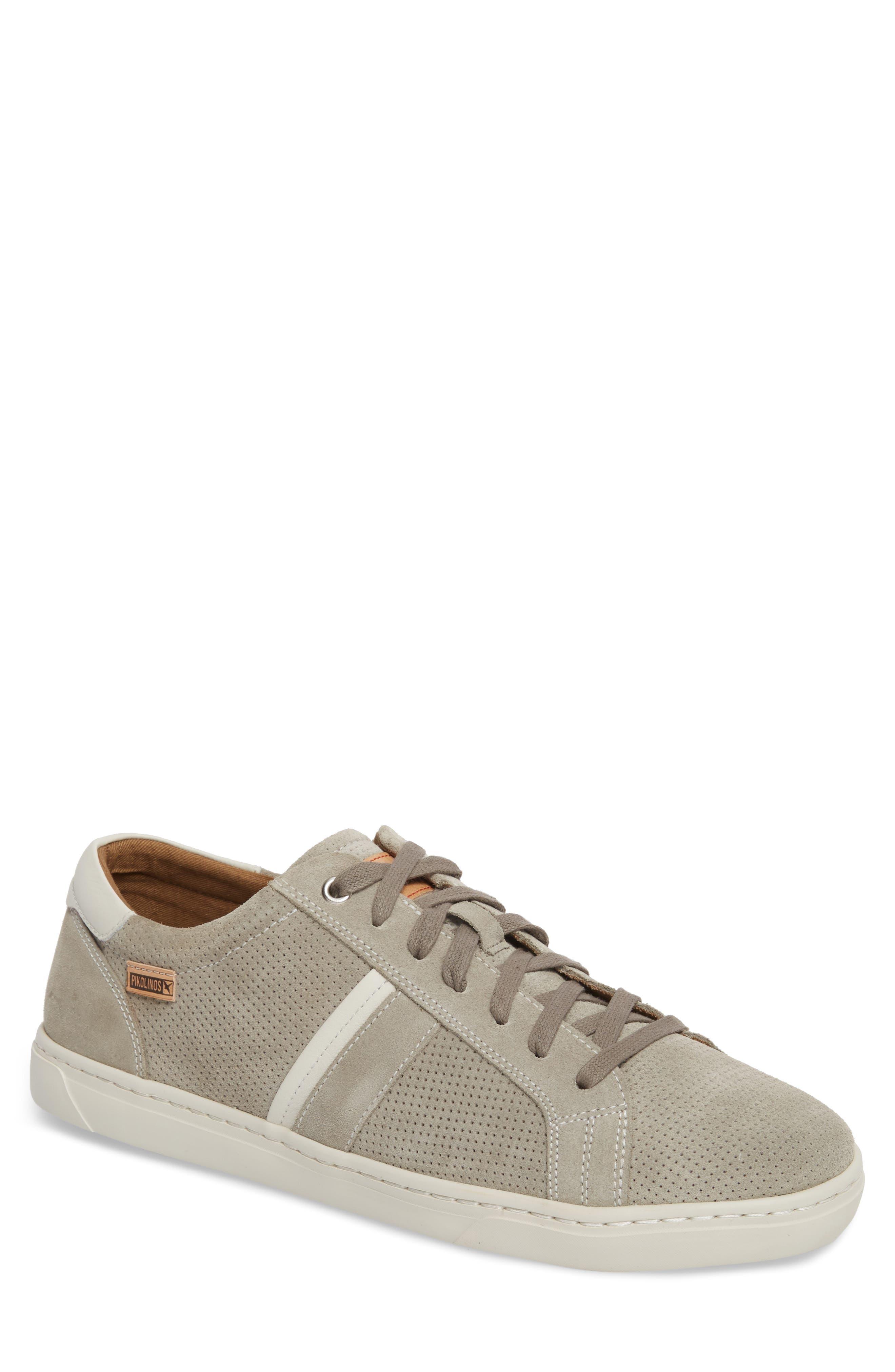 Belfort Perforated Sneaker,                             Main thumbnail 1, color,                             020