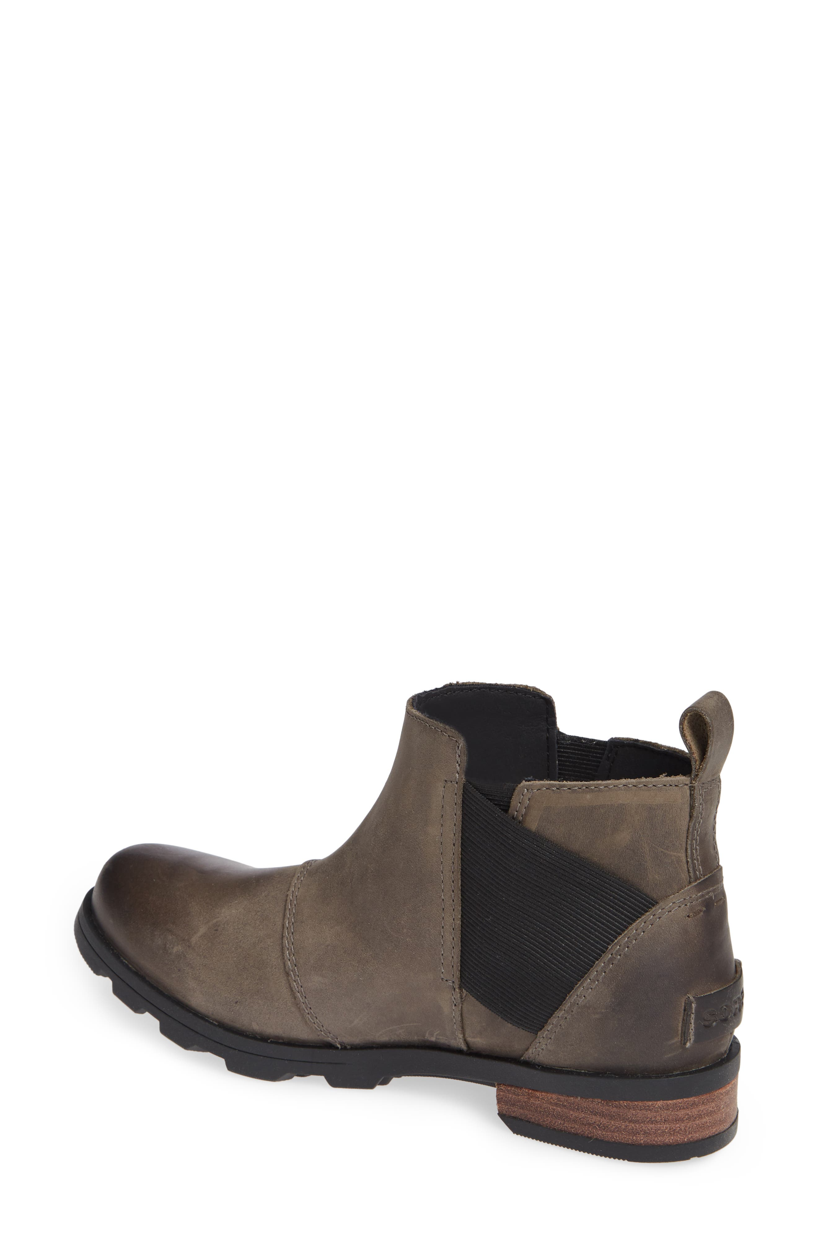 Emelie Waterproof Chelsea Boot,                             Alternate thumbnail 5, color,