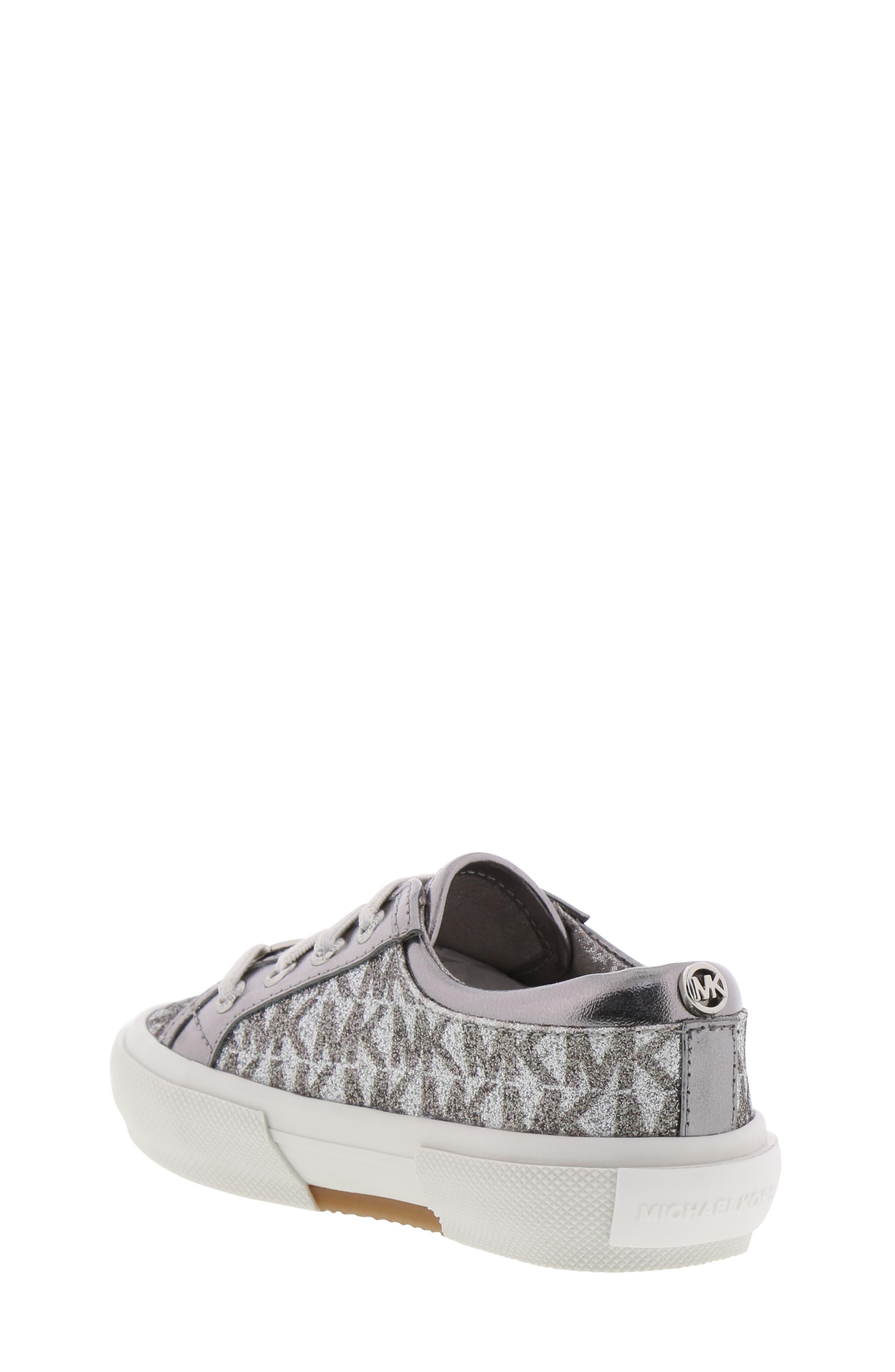 MICHAEL MICHAEL KORS,                             Ima Tinsel Sneaker,                             Alternate thumbnail 2, color,                             GUNMETAL