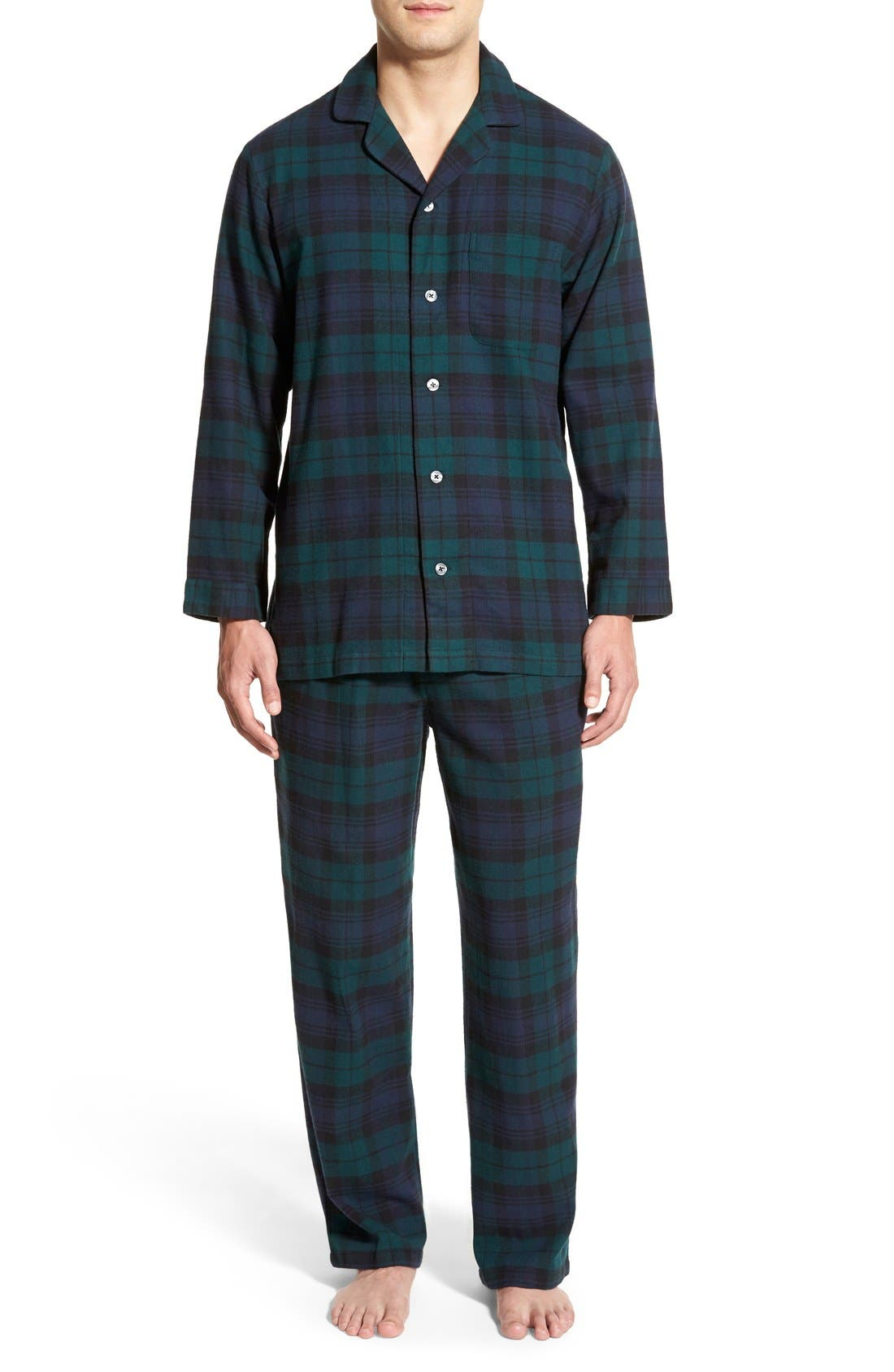 '824' Flannel Pajama Set,                             Main thumbnail 13, color,