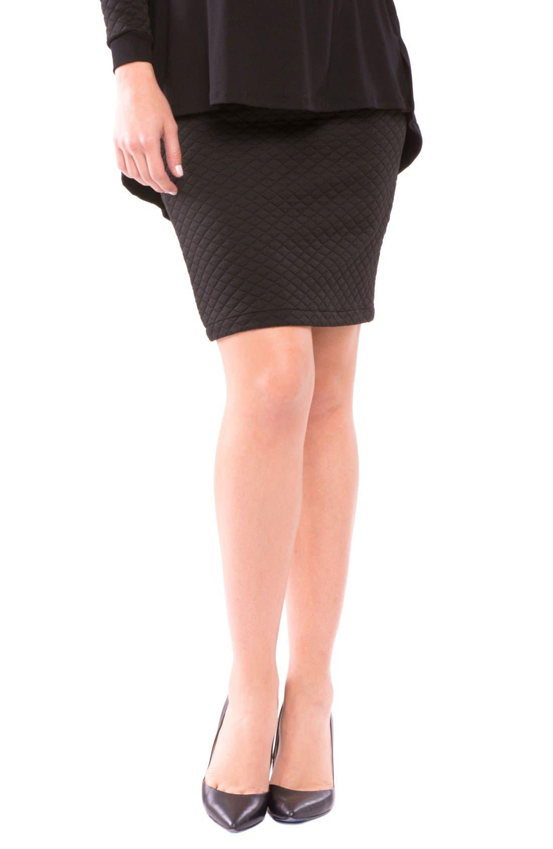 Adreina Maternity Skirt,                             Main thumbnail 1, color,                             001