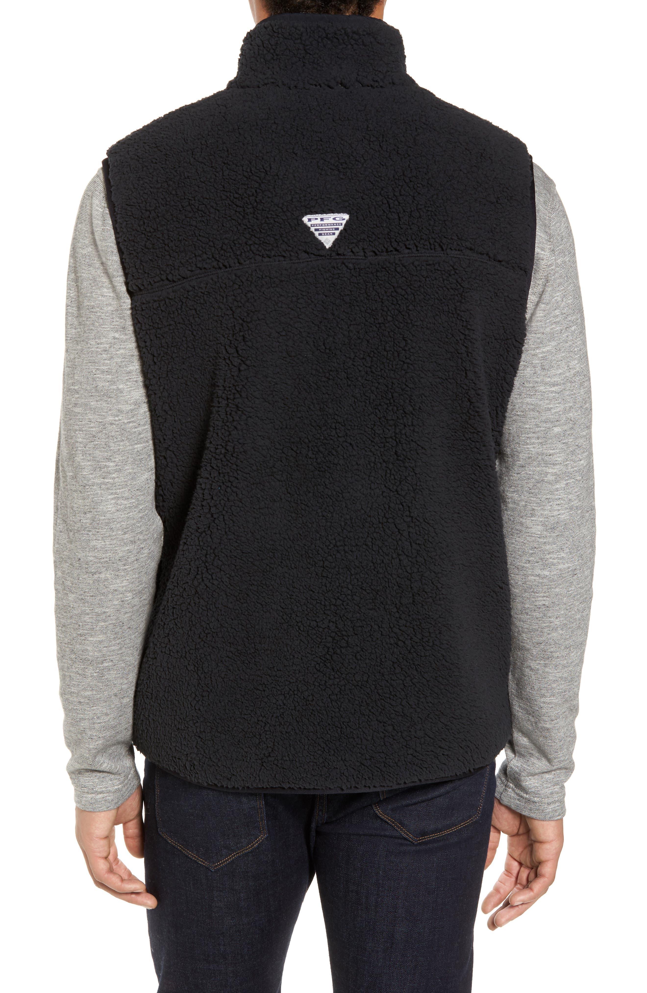 Sportswear Harborside Heavyweight Fleece Vest,                             Alternate thumbnail 2, color,                             010