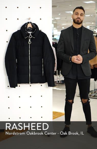 Wool Blend Puffer Jacket, sales video thumbnail
