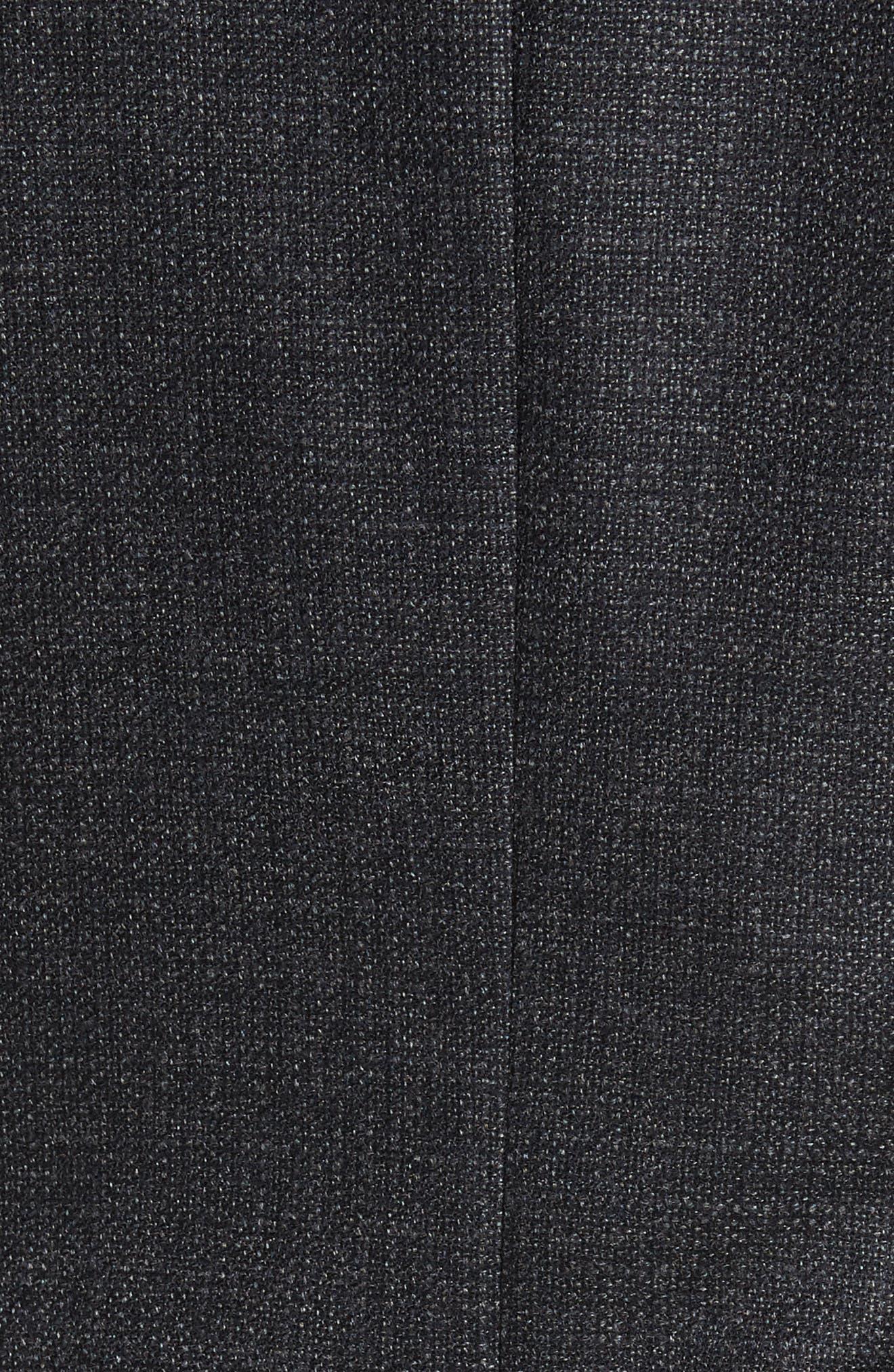 Endurance Trim Fit Wool Sport Coat,                             Alternate thumbnail 6, color,                             020