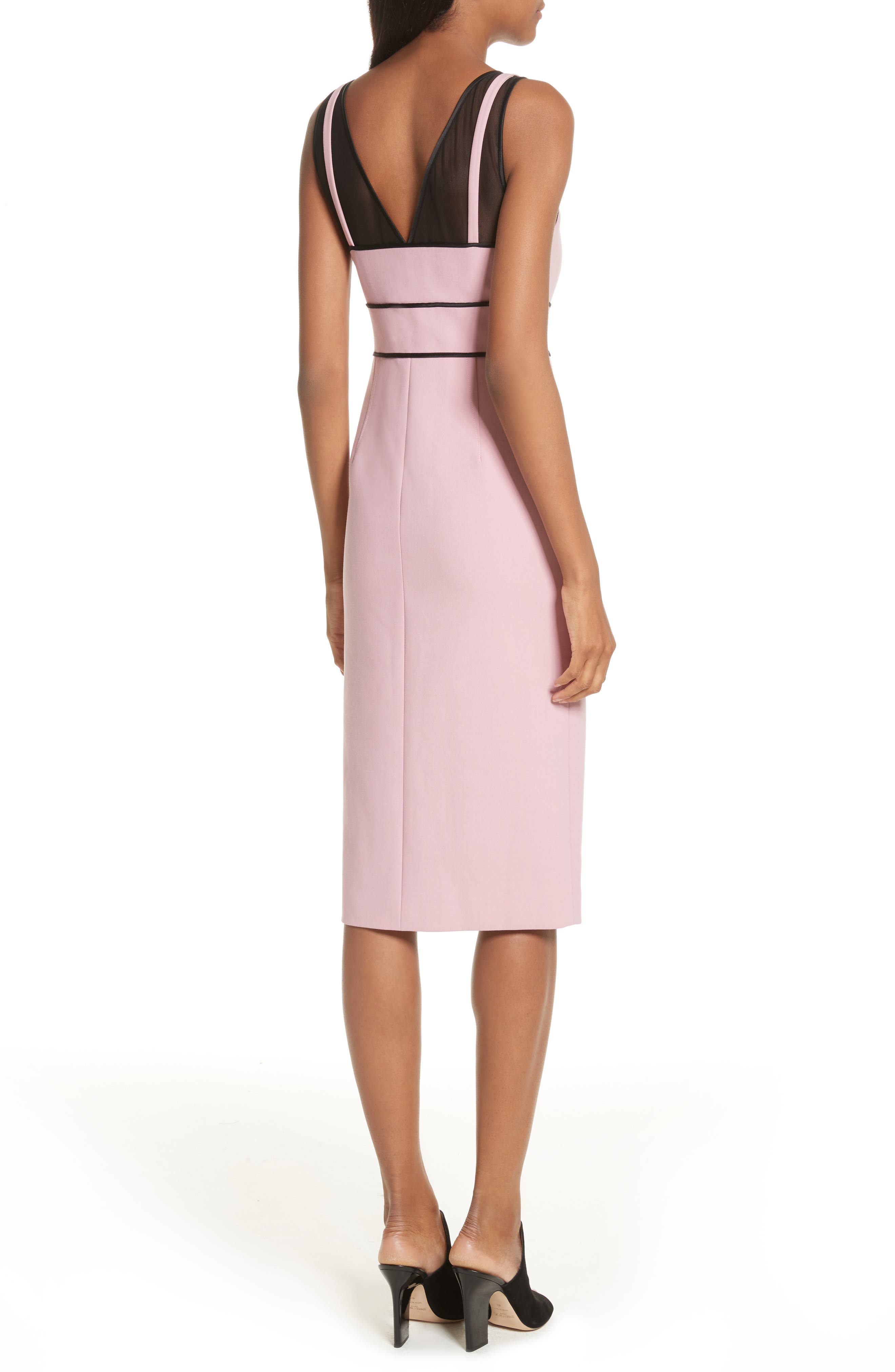 Lida Sheath Dress,                             Alternate thumbnail 4, color,