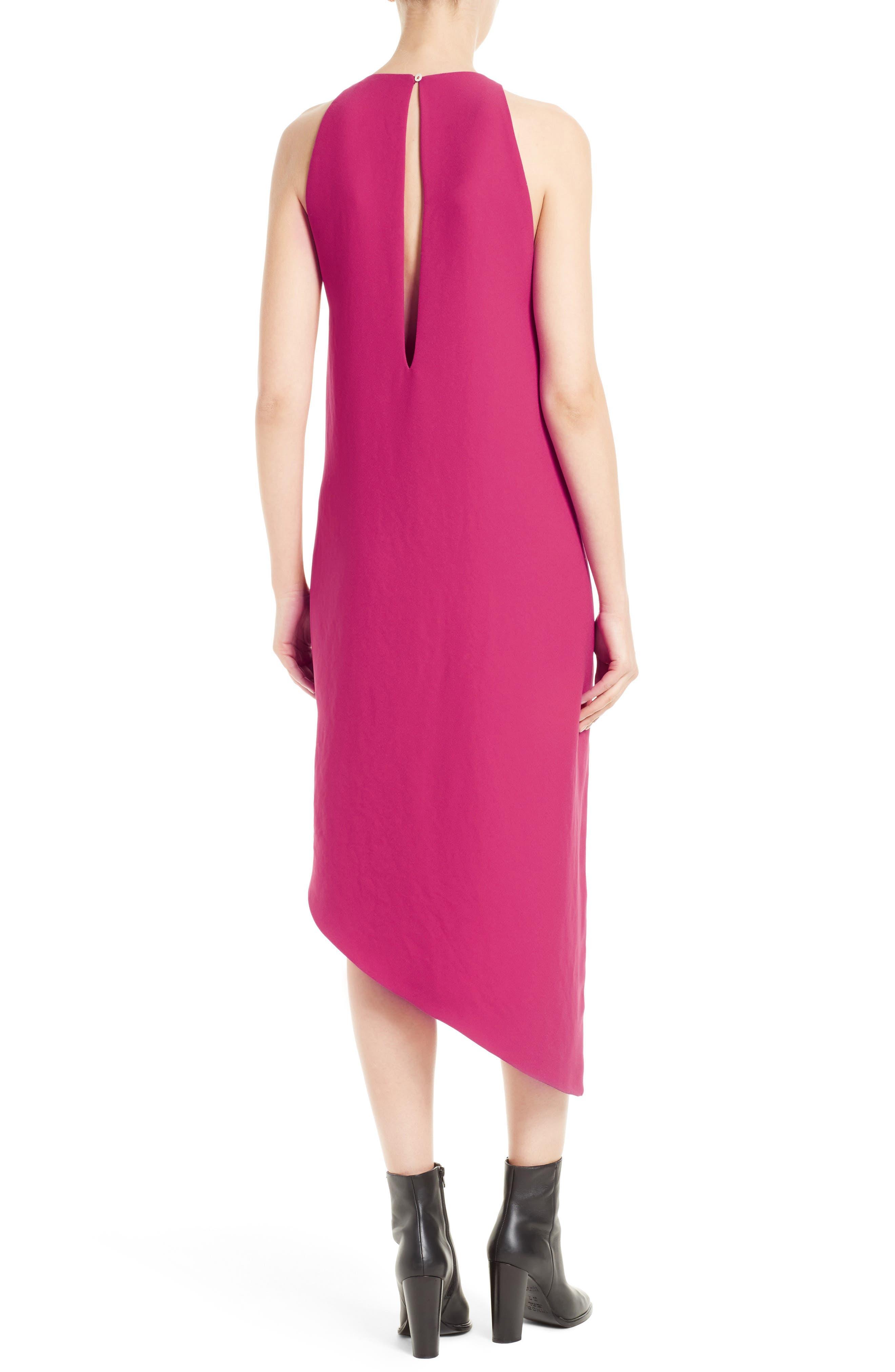 Hamlin Asymmetrical High/Low Dress,                             Alternate thumbnail 2, color,                             652