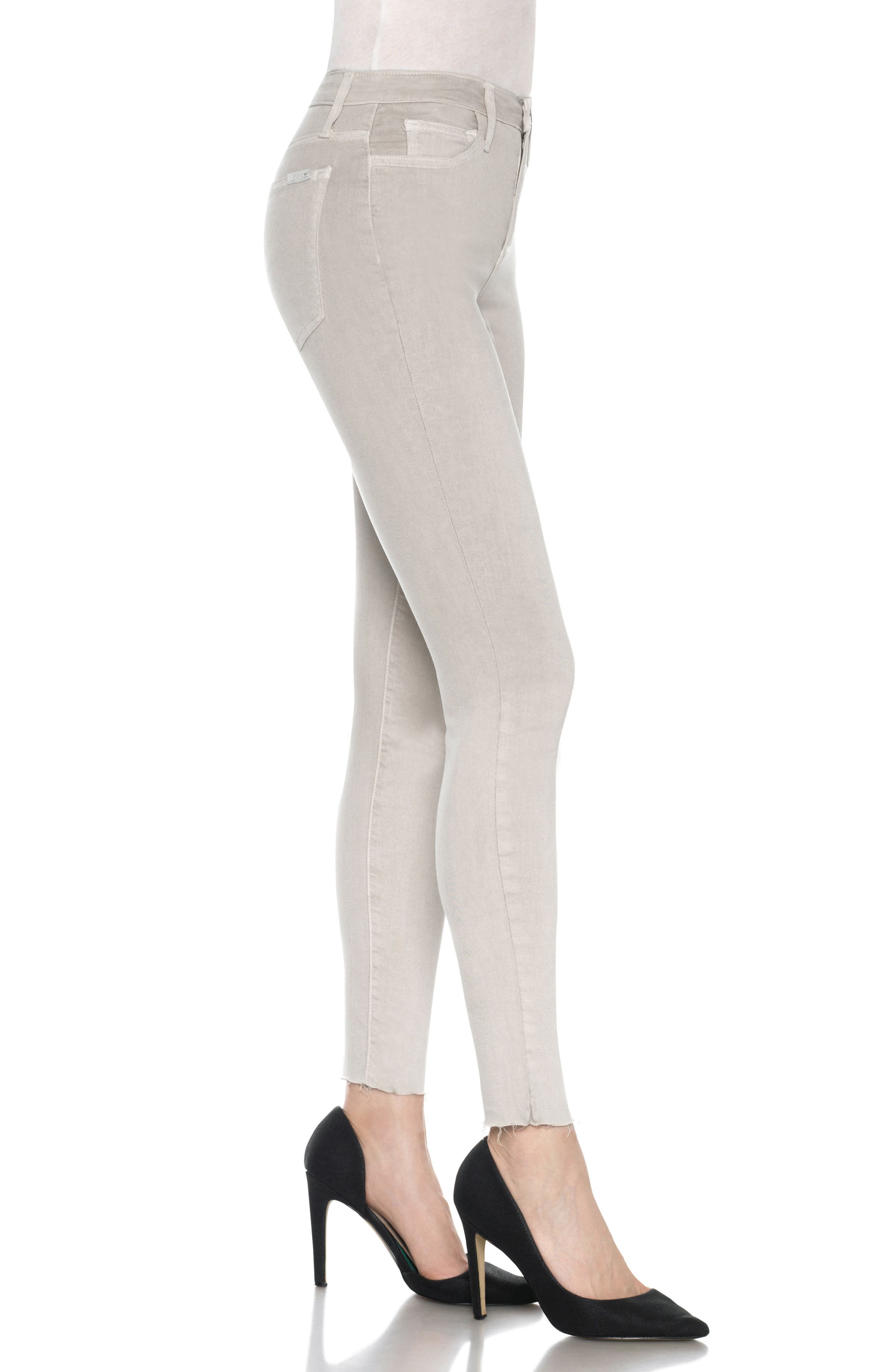 Charlie High Rise Ankle Skinny Jeans,                             Alternate thumbnail 23, color,