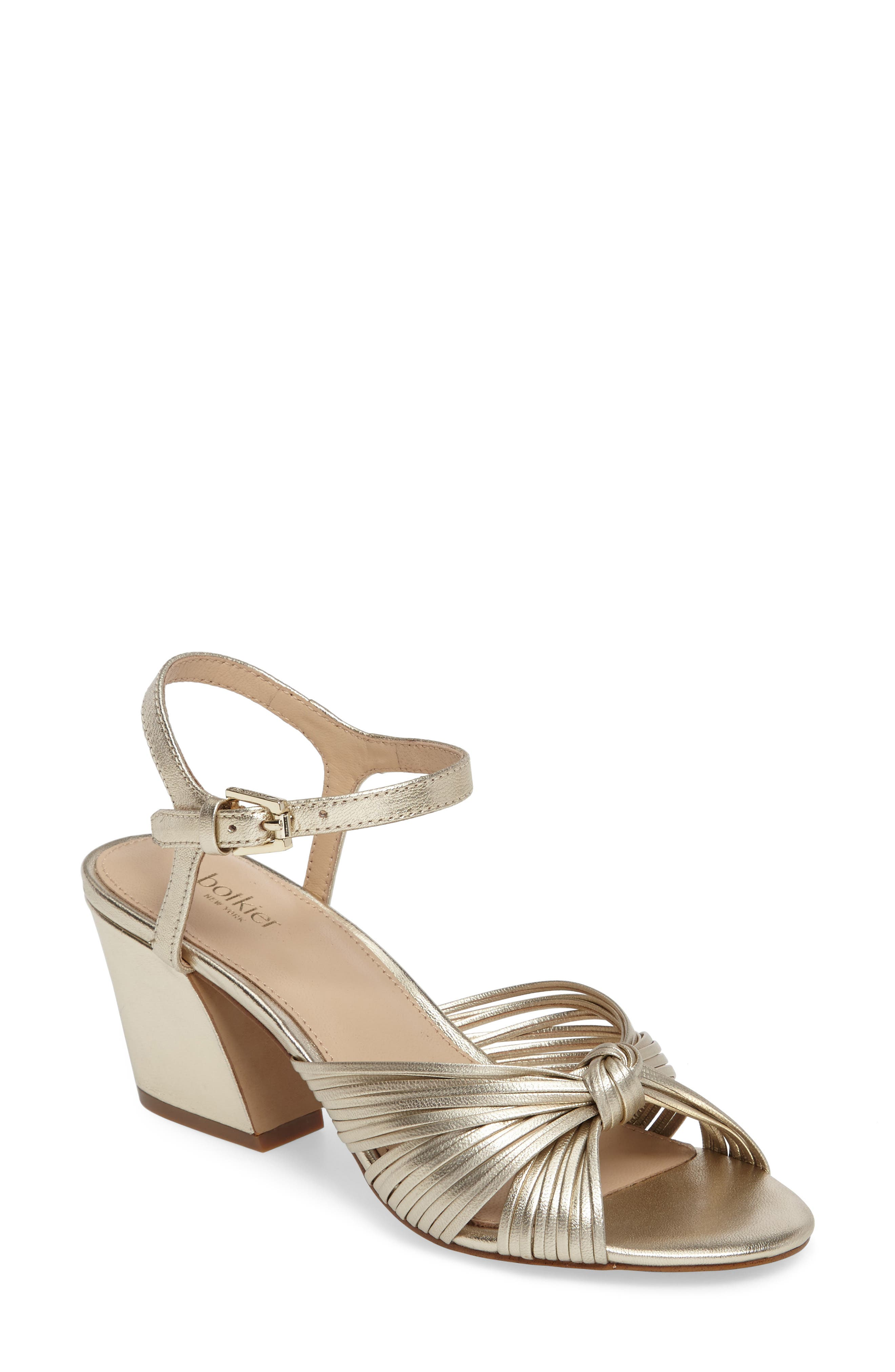 Patsy Block Heel Sandal,                         Main,                         color, 100