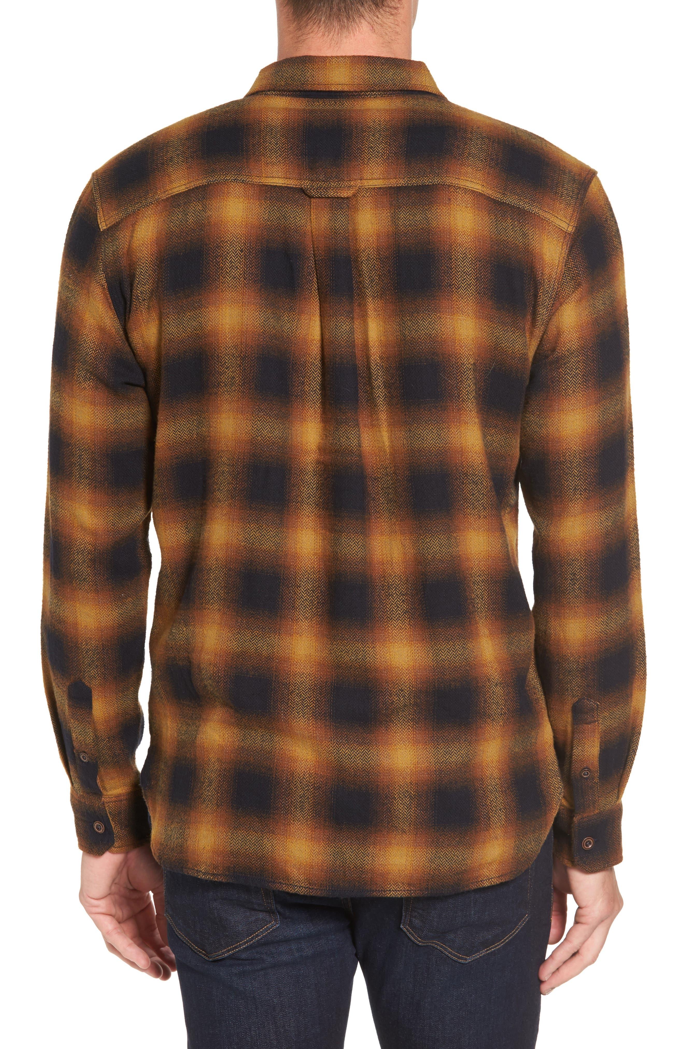 Truman Check Herringbone Shirt,                             Alternate thumbnail 2, color,