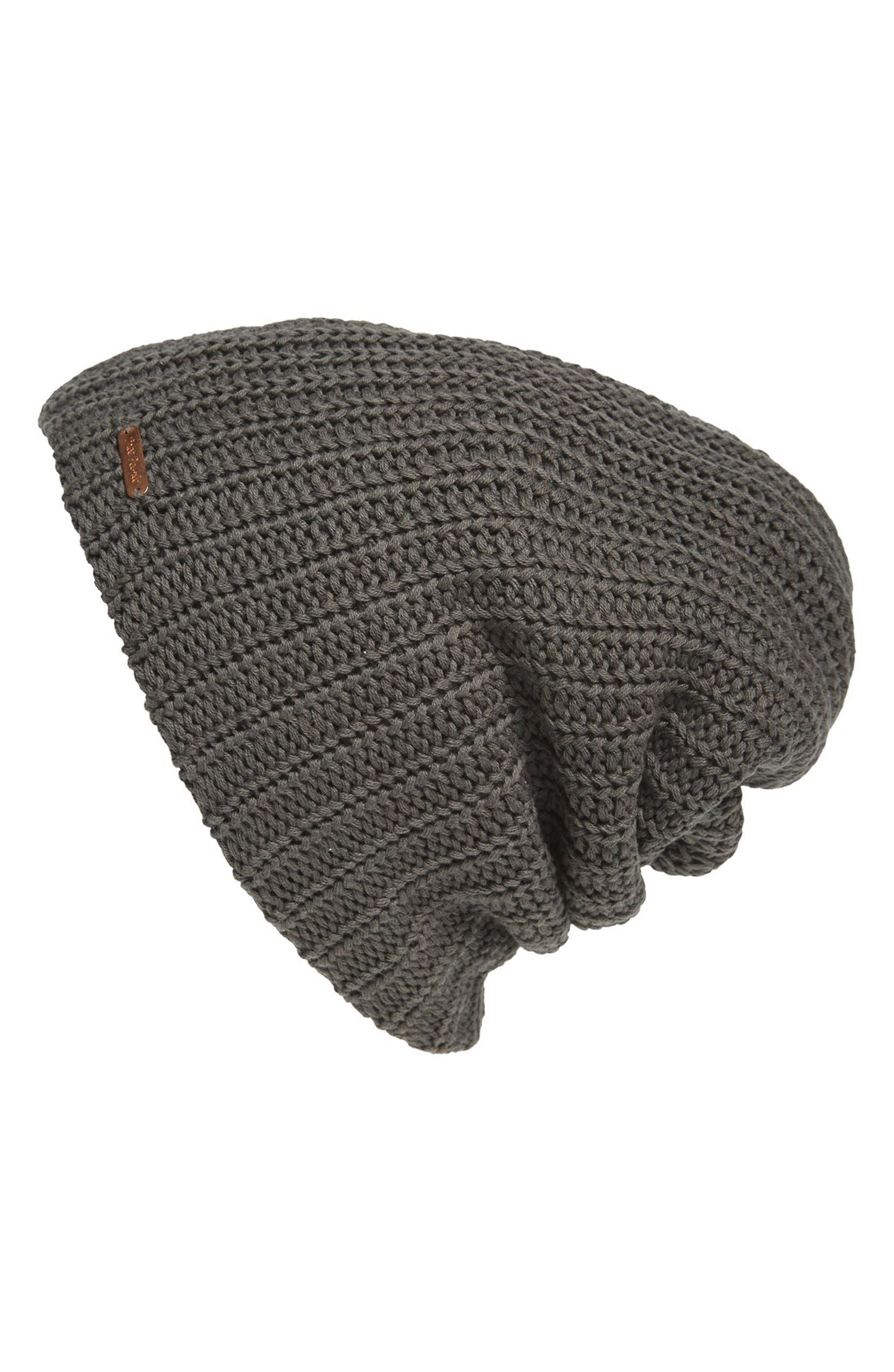 Free People  Capsule  Slouchy Knit Beanie  aca17f09721d