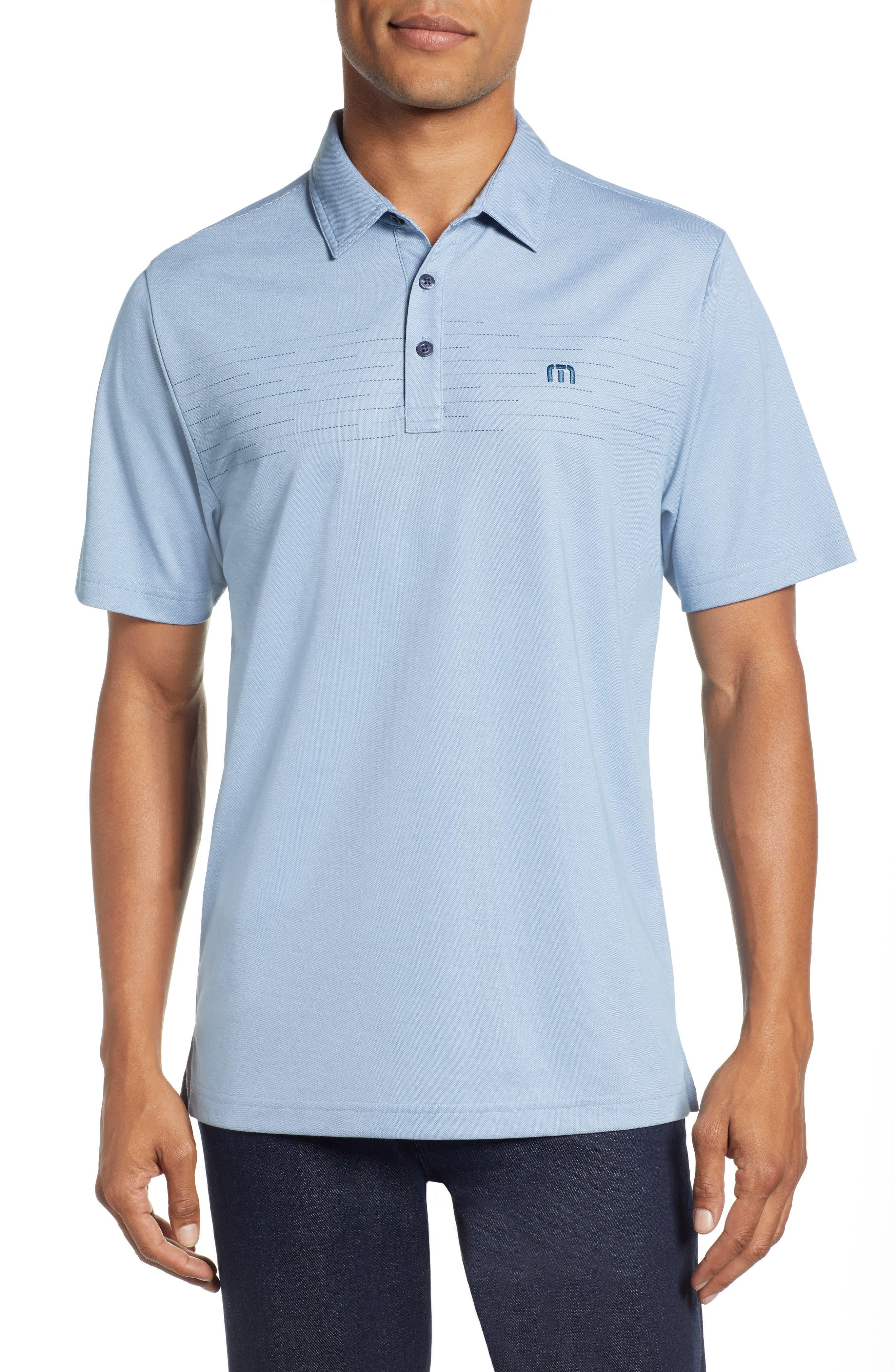 Instatweet Regular Fit Polo,                         Main,                         color, HEATHER BLUESTONE