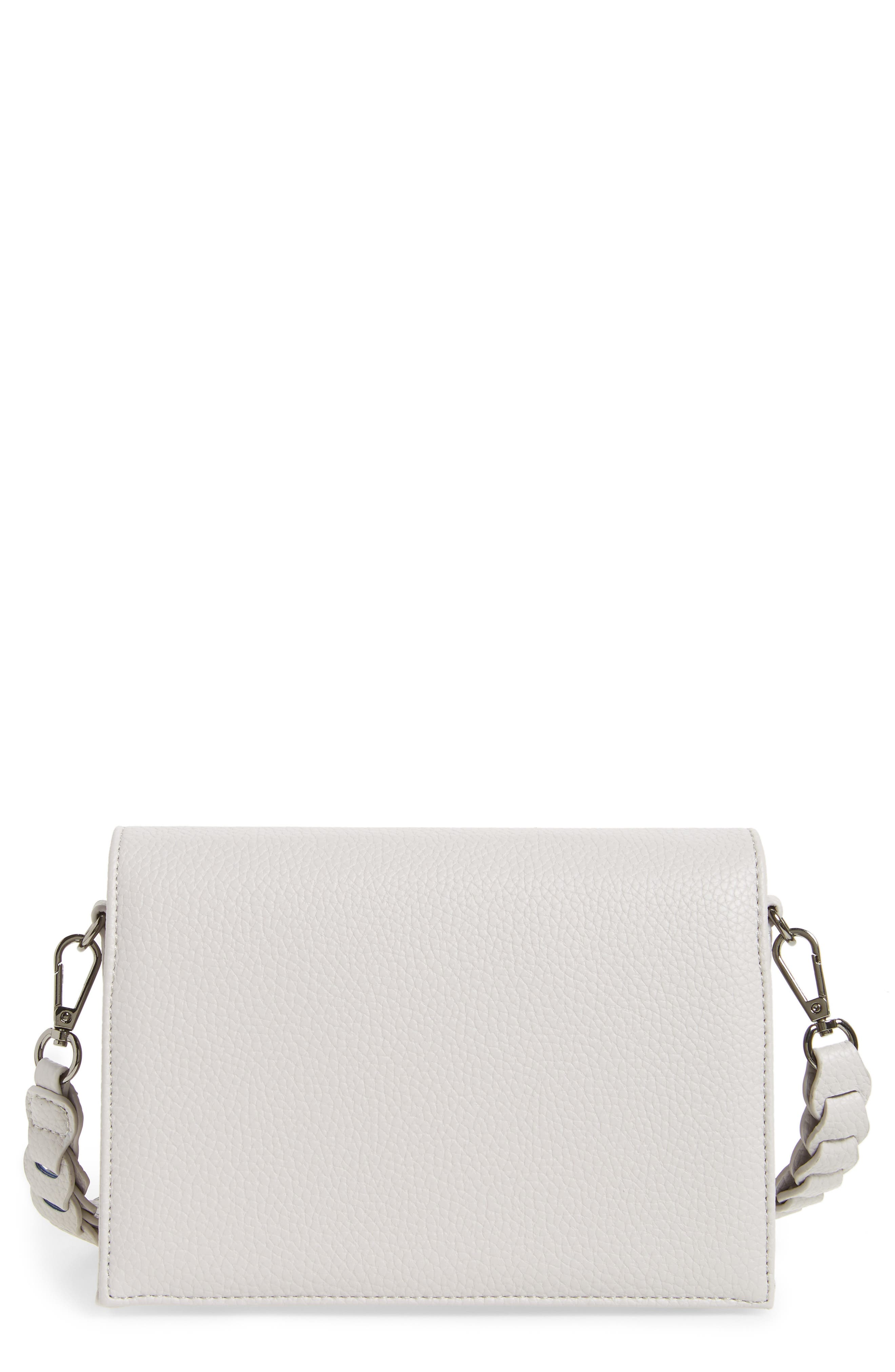 Braided Handle Crossbody Bag,                             Main thumbnail 1, color,                             020