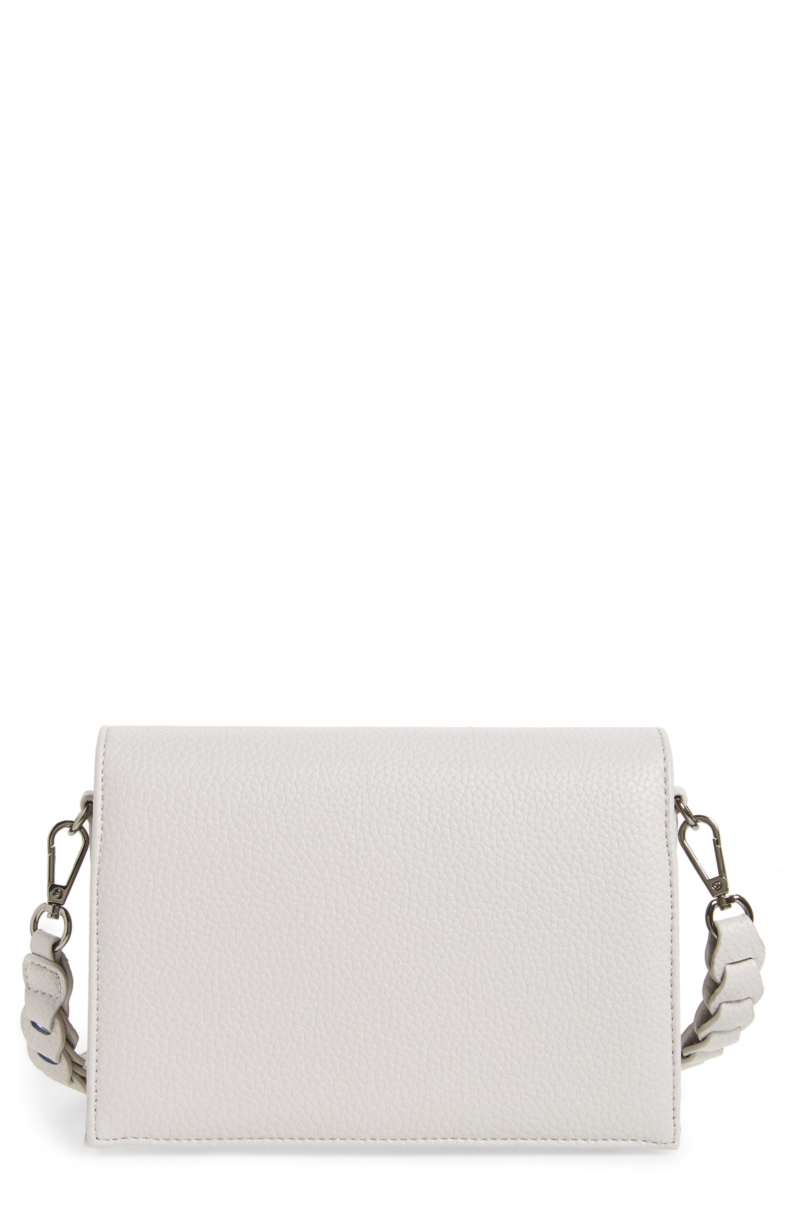 Braided Handle Crossbody Bag, Main, color, 020