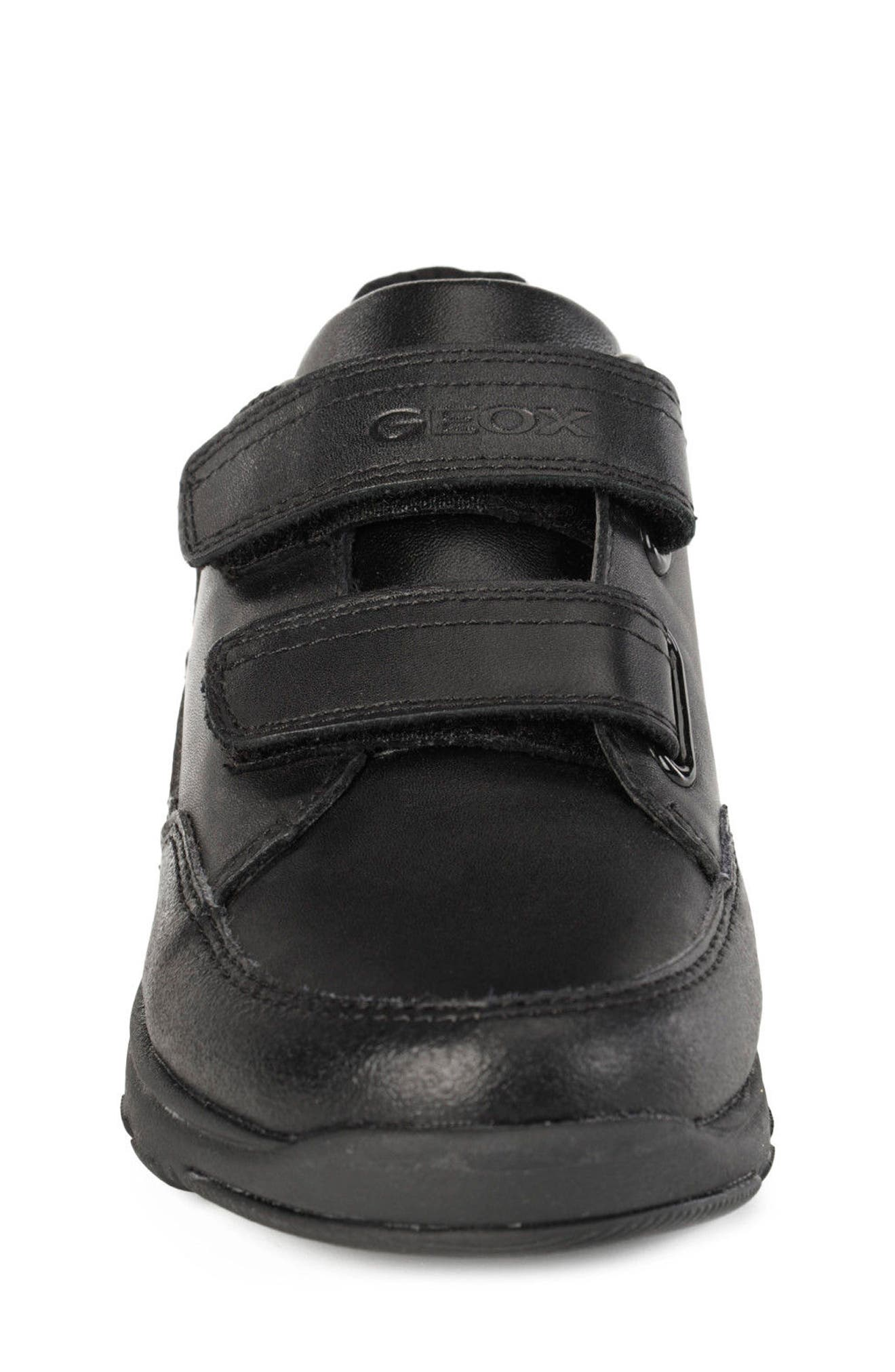 Xunday Low Top Sneaker,                             Alternate thumbnail 4, color,                             BLACK