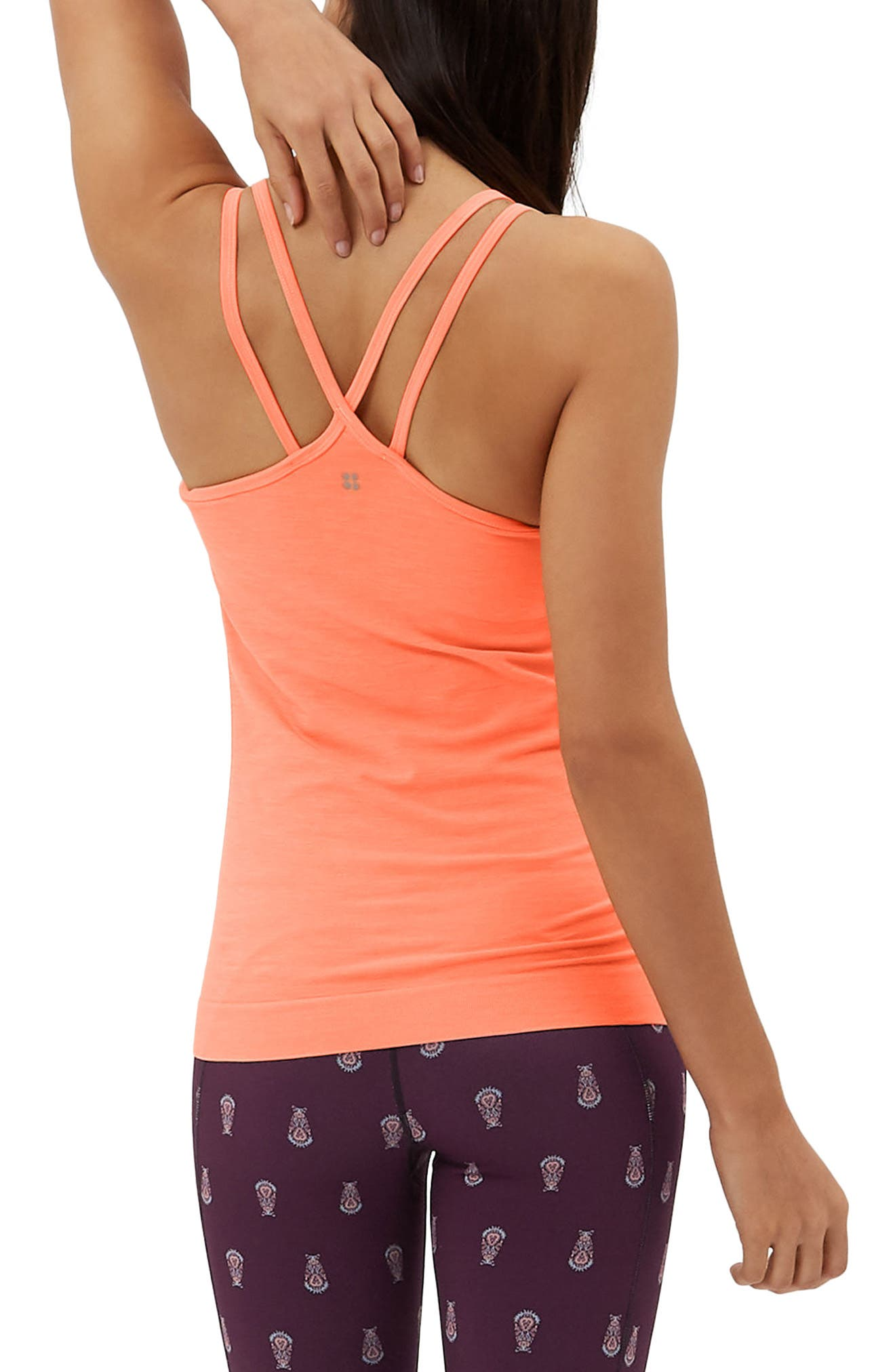 Namaska Yoga Tank,                             Alternate thumbnail 4, color,