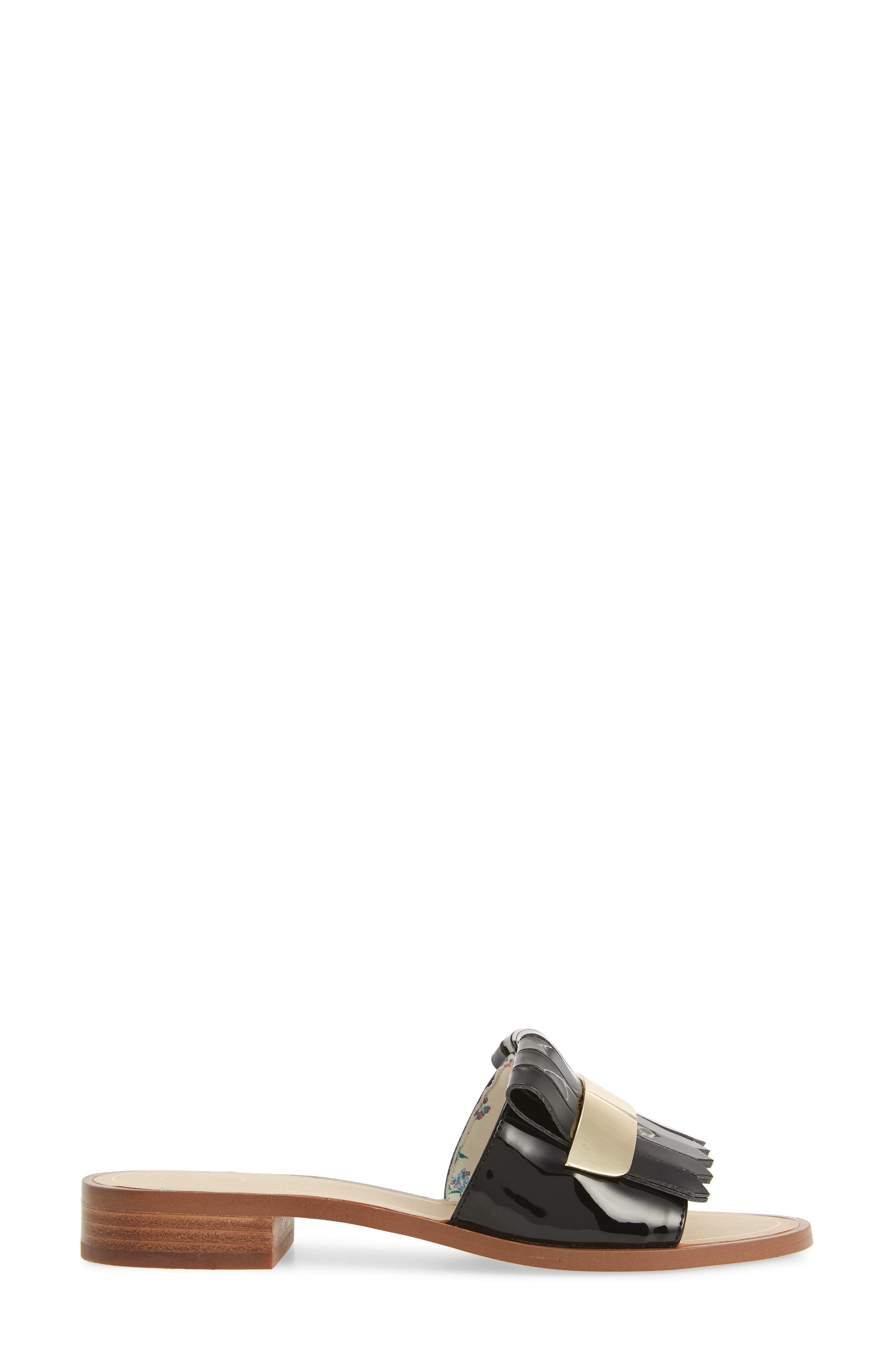 Aldrich Slide Sandal,                             Alternate thumbnail 3, color,                             002