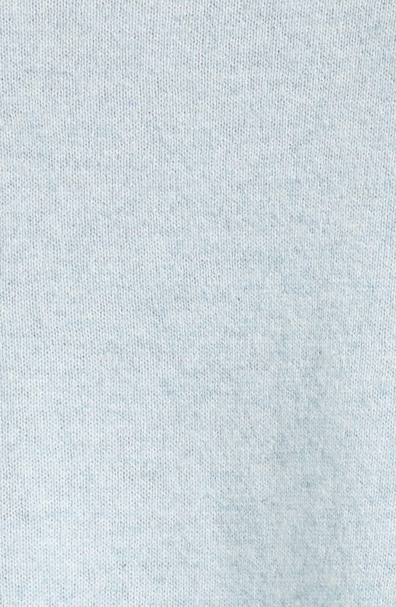 Tambrel H Asymmetrical Hem Cashmere Sweater,                             Alternate thumbnail 5, color,                             400