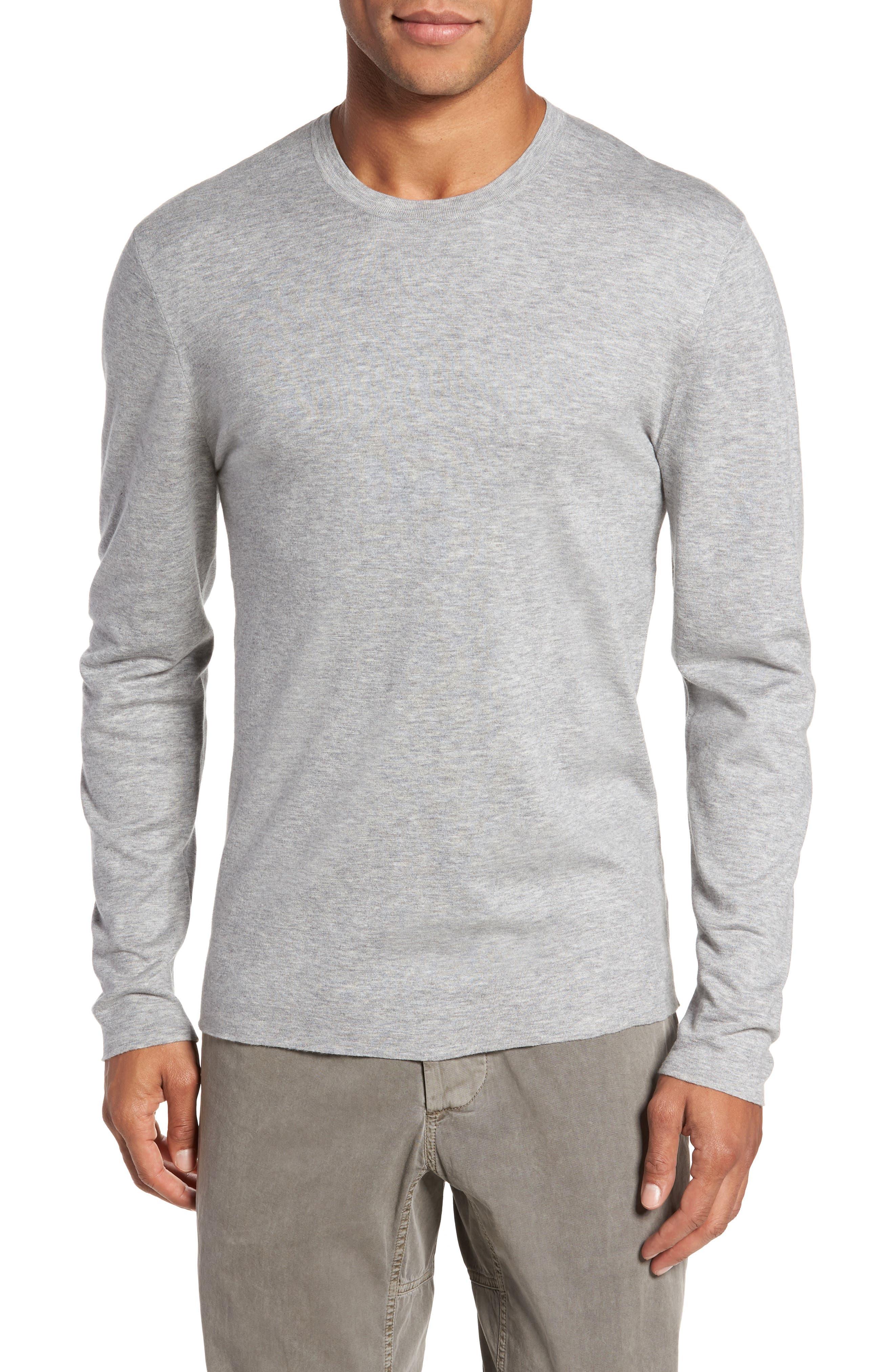 Reversible Long Sleeve T-Shirt,                             Main thumbnail 1, color,                             020