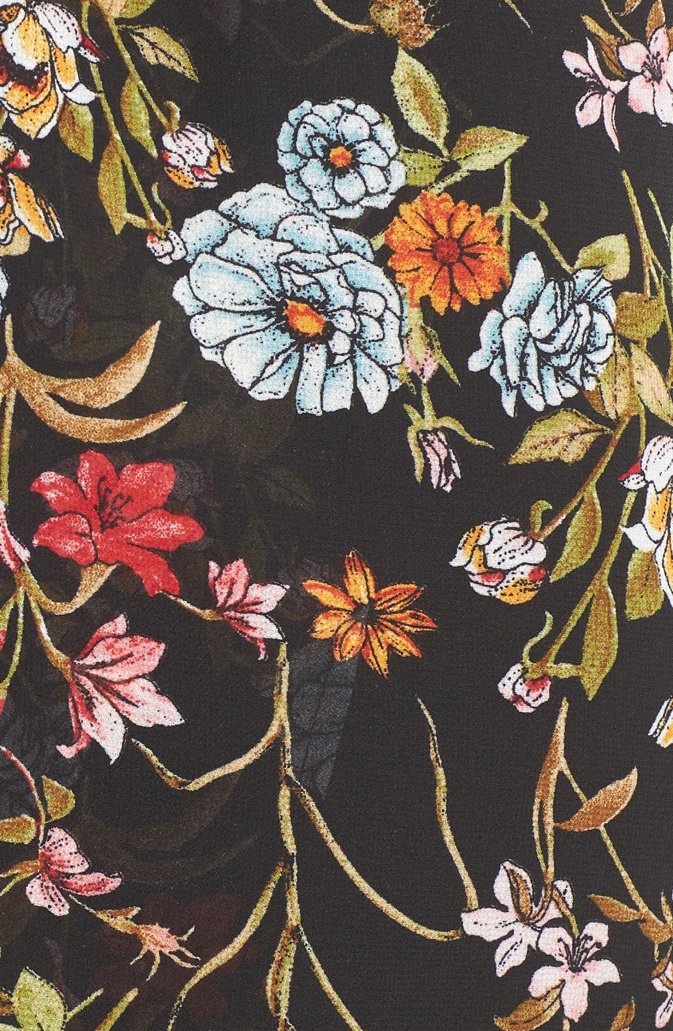 Surplice High/Low Maxi Dress,                             Alternate thumbnail 6, color,