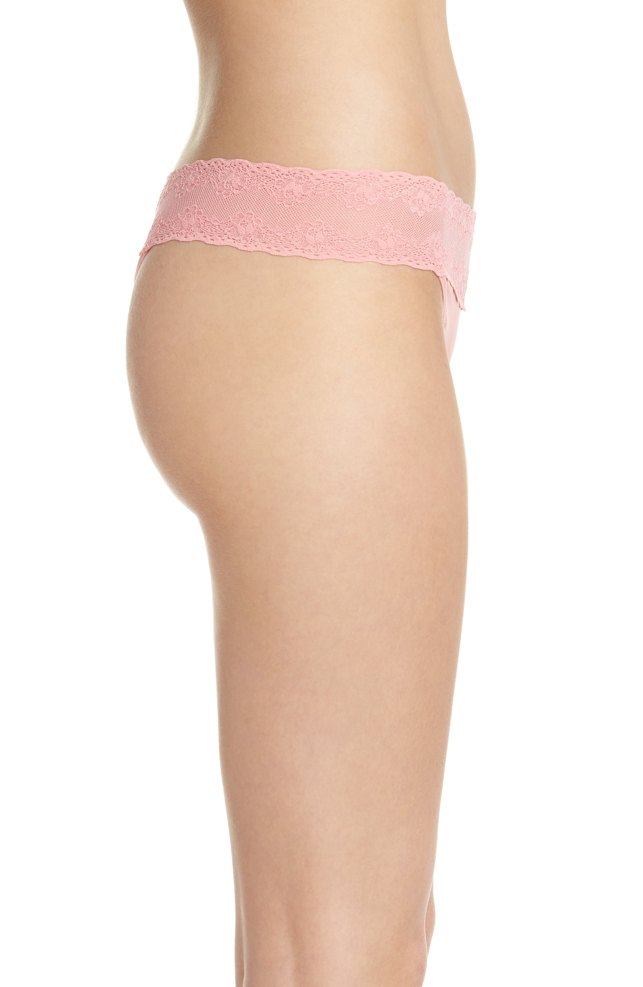 Bliss Perfection Thong,                             Alternate thumbnail 235, color,