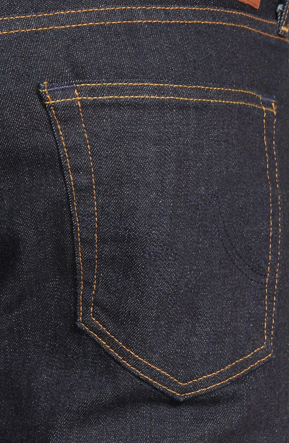 Protégé Straight Leg Jeans,                             Alternate thumbnail 4, color,                             461