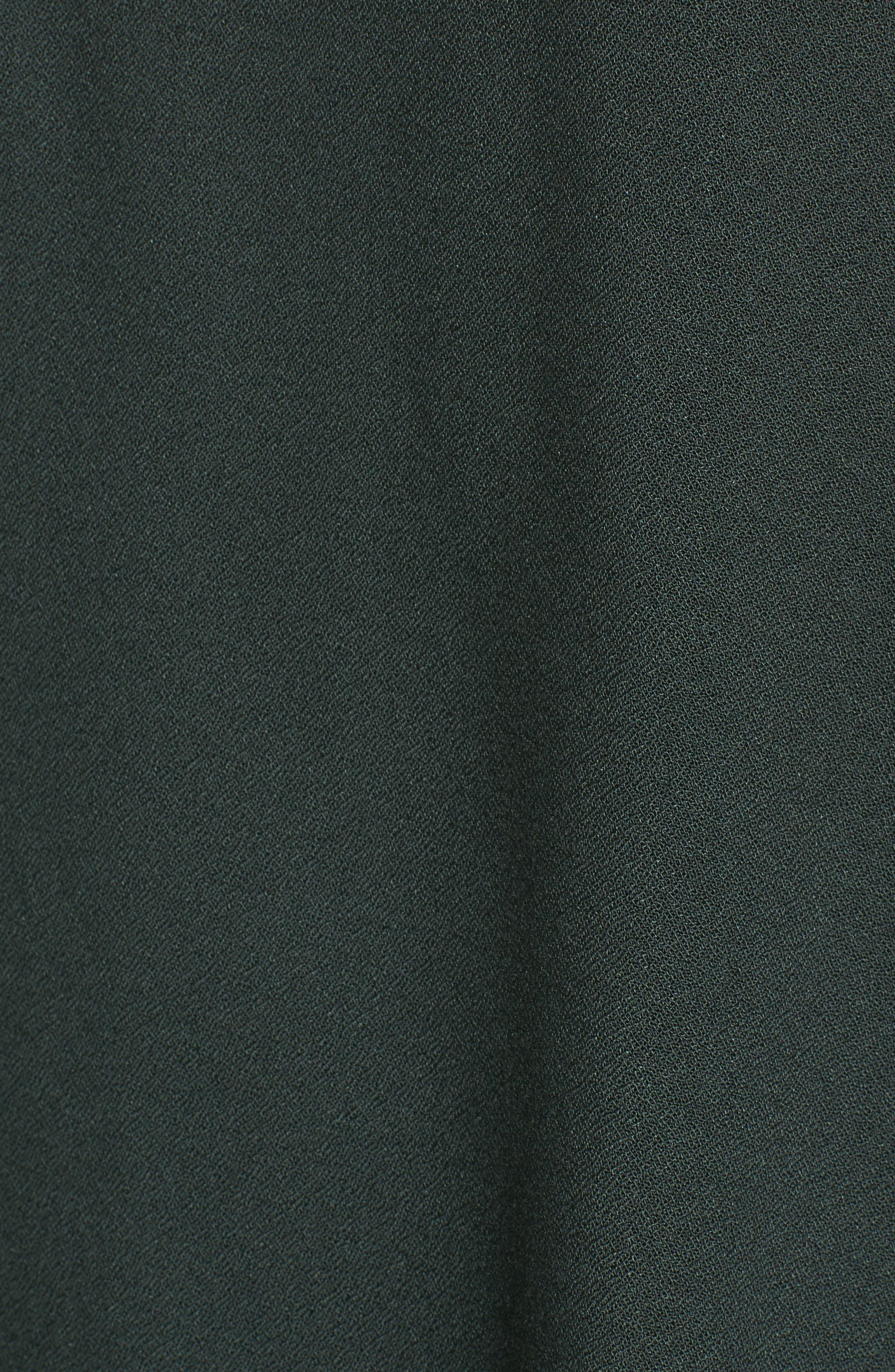 Tie Sleeve Cold Shoulder Top,                             Alternate thumbnail 5, color,