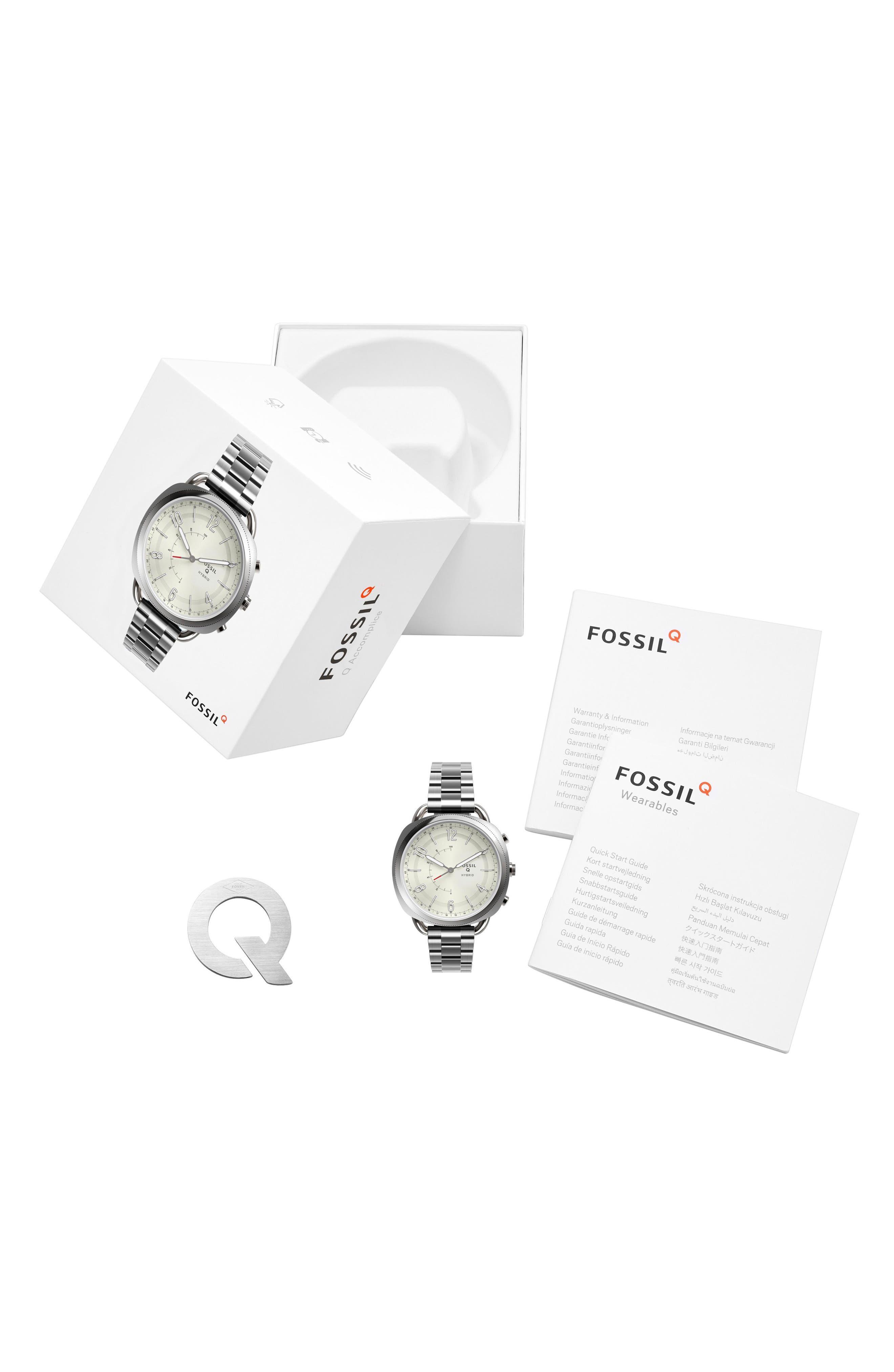Accomplice Smart Bracelet Watch, 38mm,                             Alternate thumbnail 4, color,                             NO COLOR