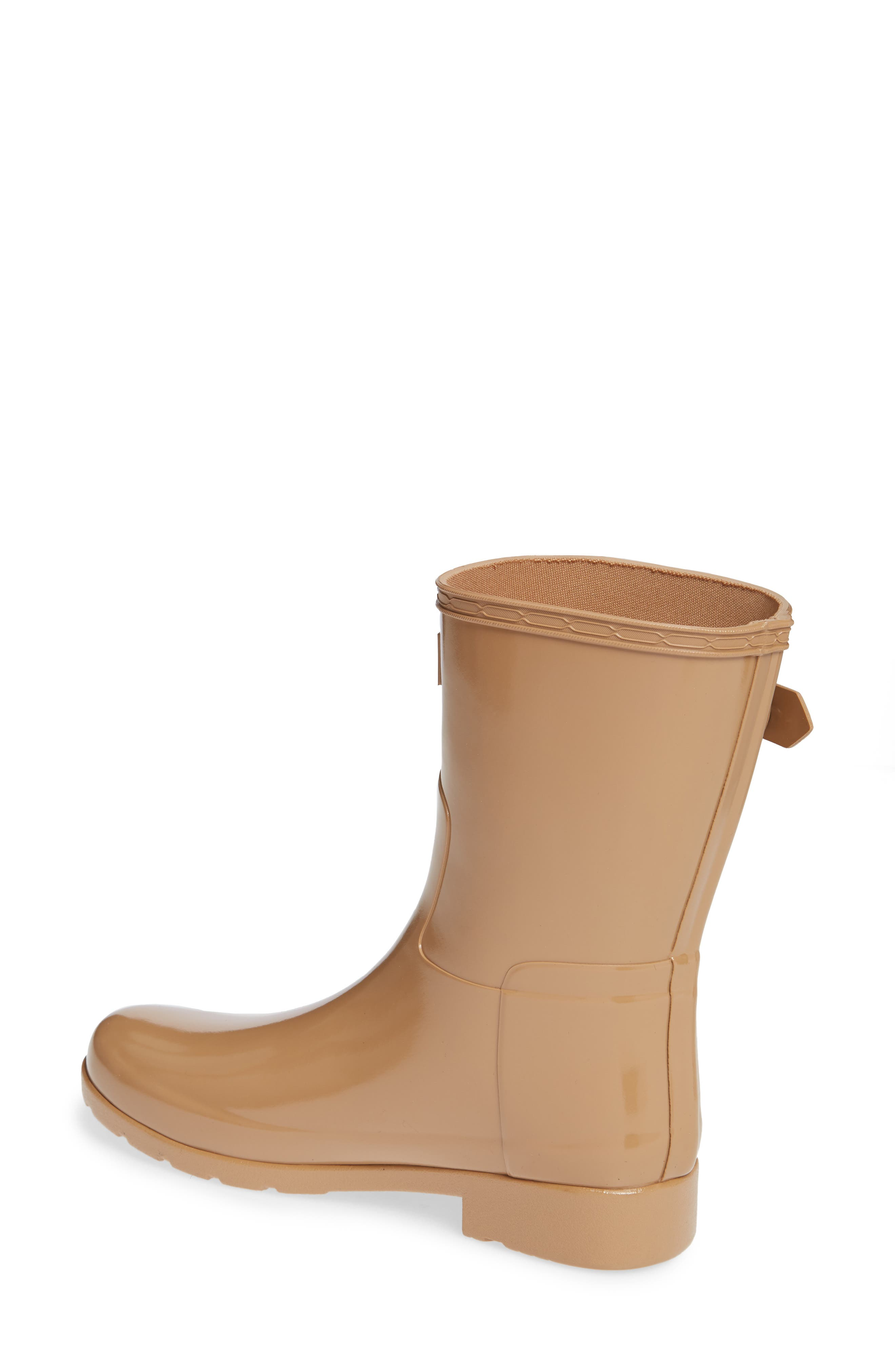 Refined Short Gloss Rain Boot,                             Alternate thumbnail 2, color,                             200
