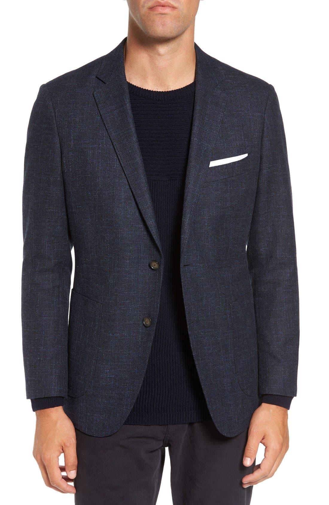 'Heaton' Sports Fit Cotton & Wool Sport Coat,                         Main,                         color, 410