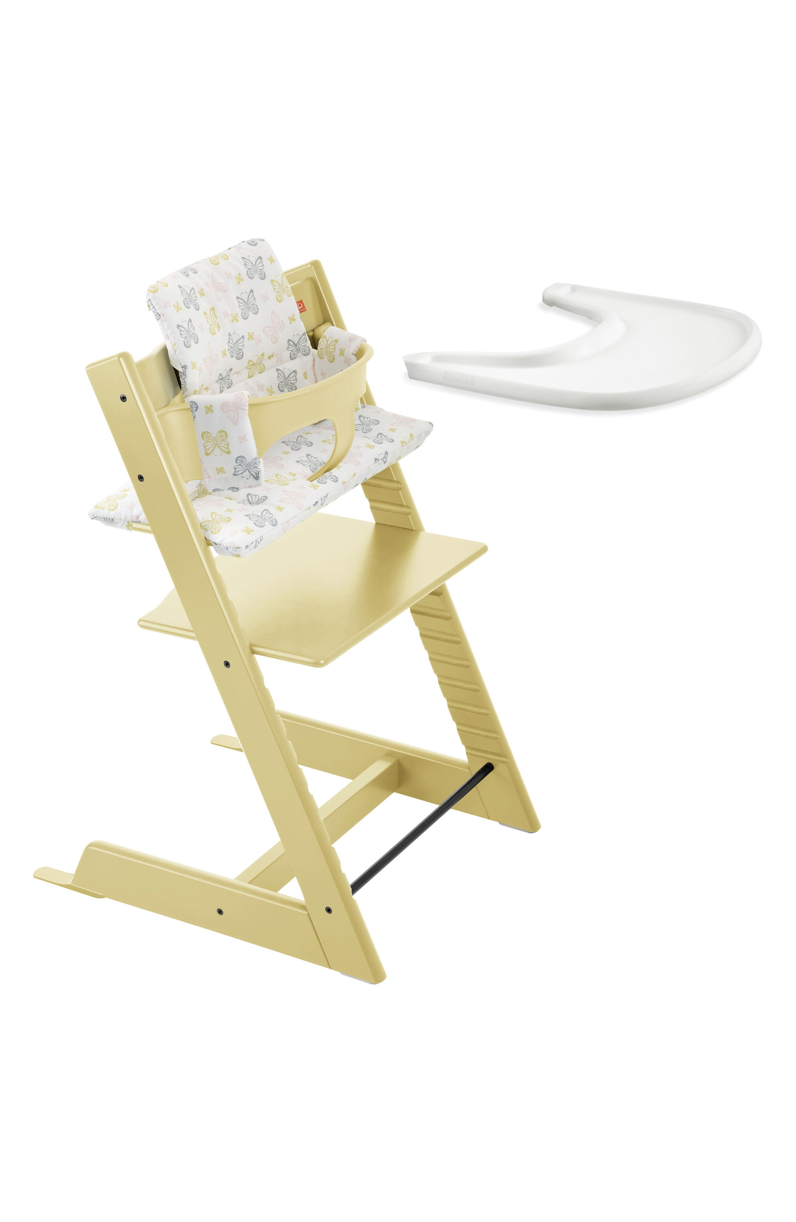 Tripp Trapp<sup>®</sup> High Chair, Baby Set, Cushion & Tray Set,                             Alternate thumbnail 3, color,                             703