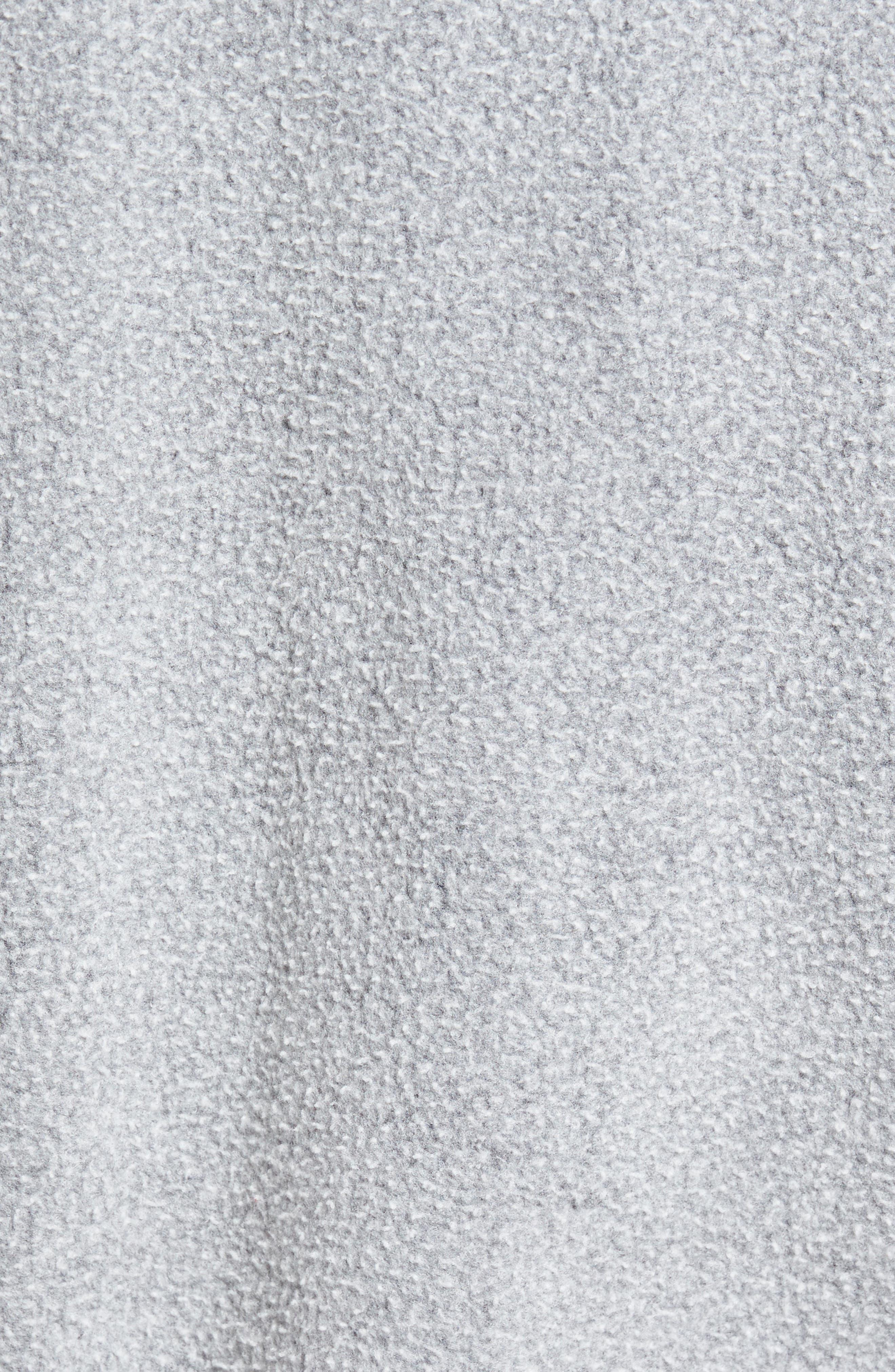 Reverse Fleece Hoodie,                             Alternate thumbnail 5, color,                             001
