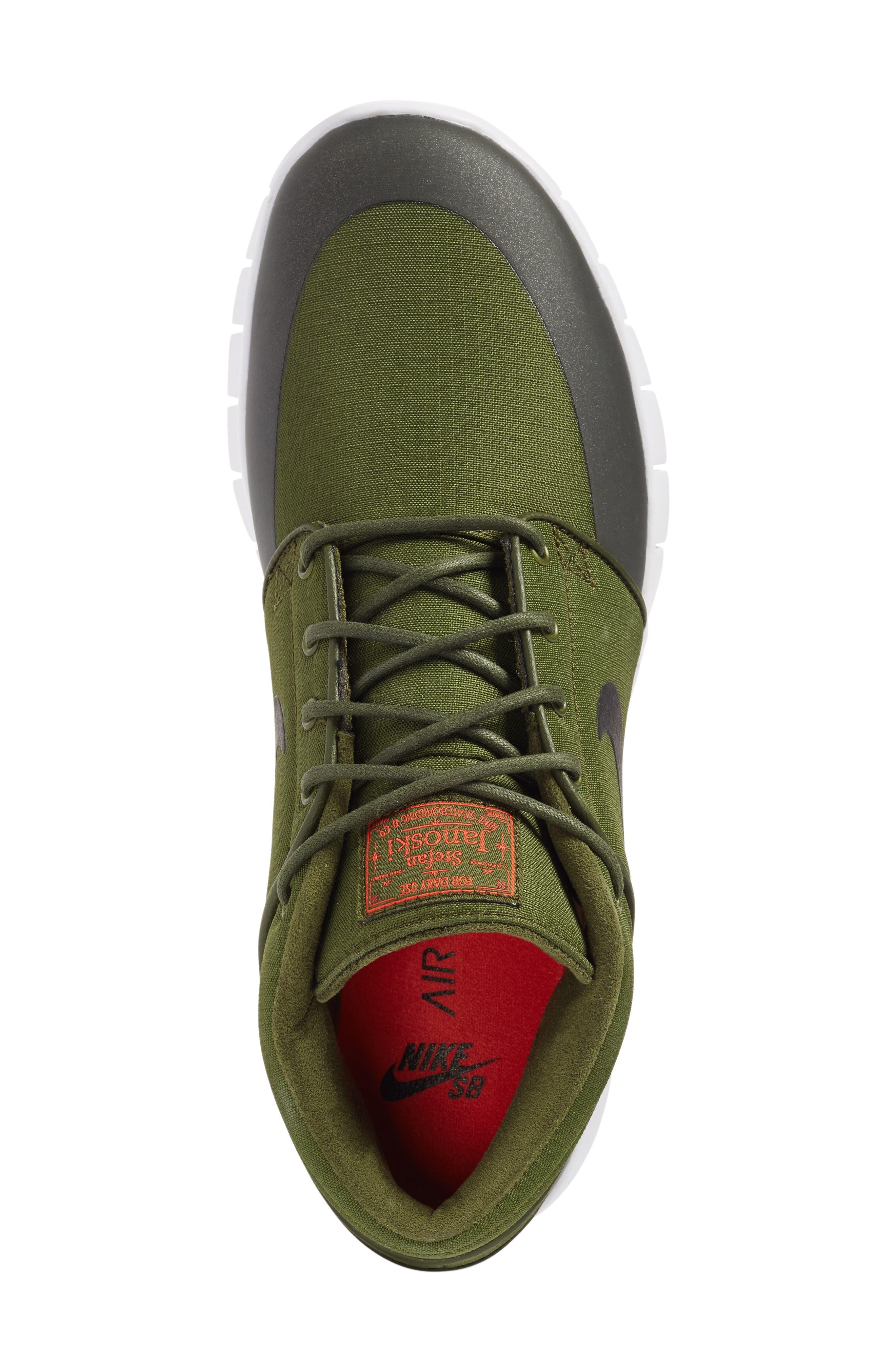 SB Stefan Janoski Max Mid Skate Shoe,                             Alternate thumbnail 43, color,