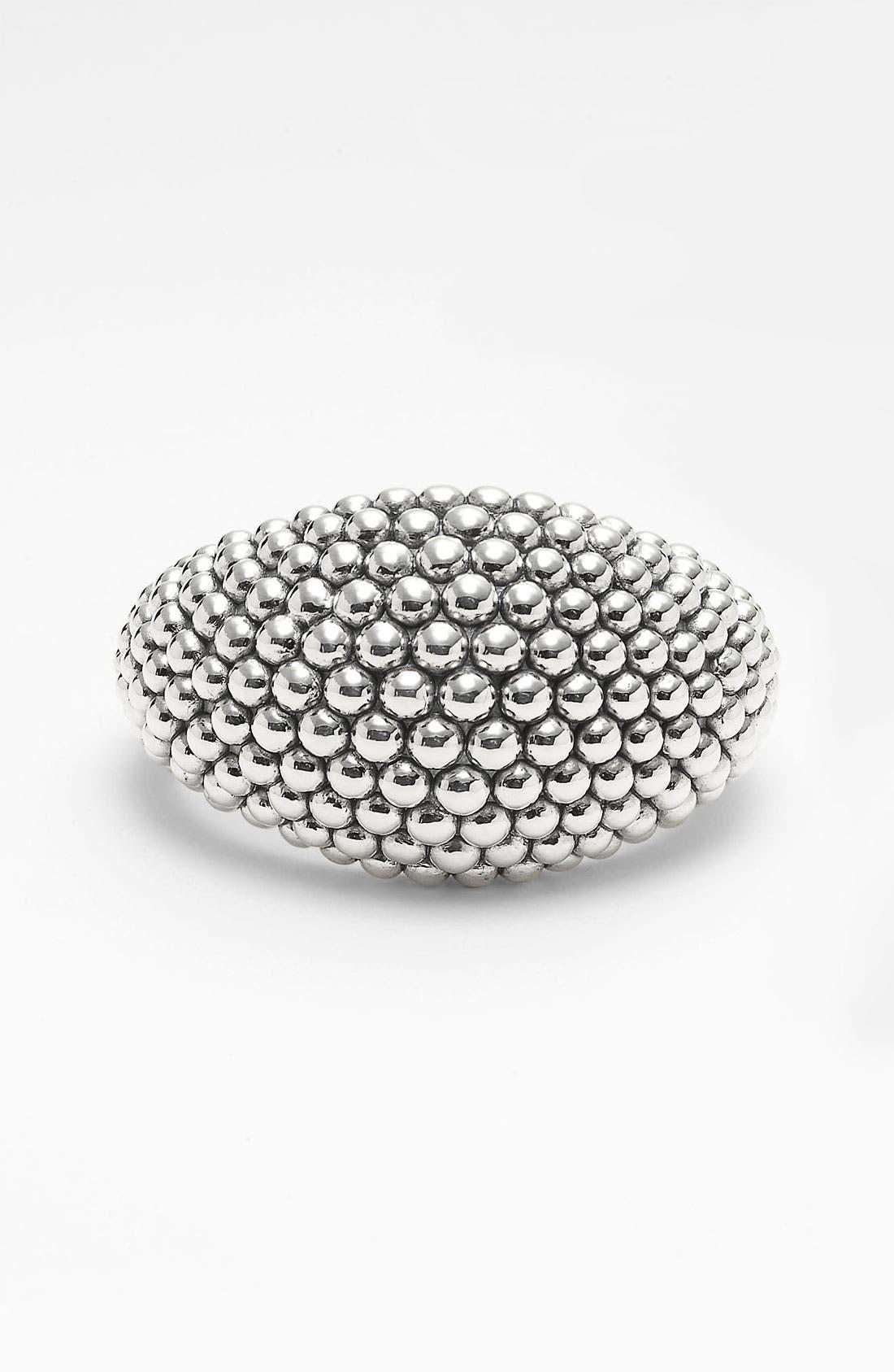 'Bold' Caviar Wide Cuff,                         Main,                         color,