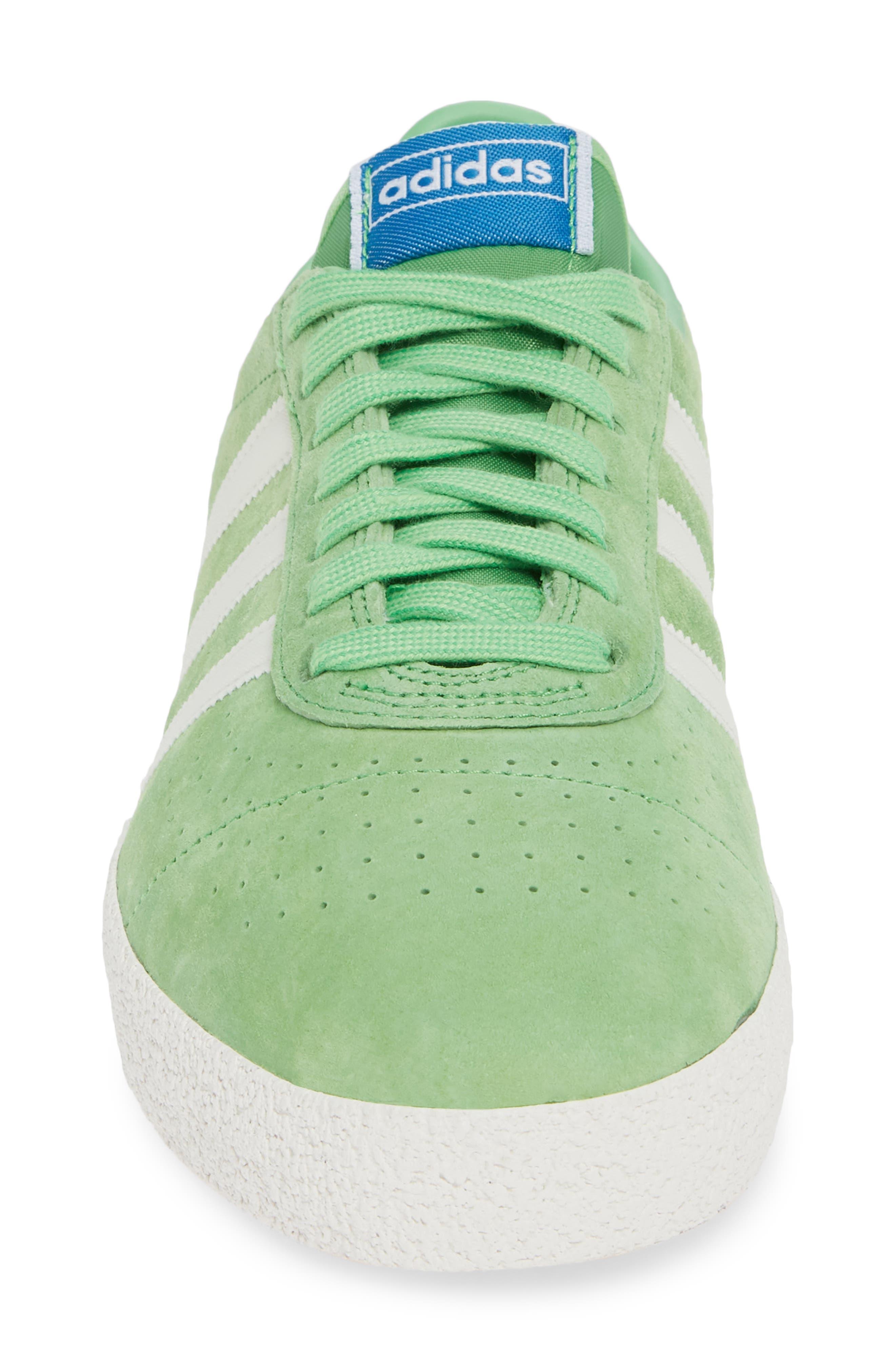 München Super Spezial Sneaker,                             Alternate thumbnail 4, color,                             INTENSE GREEN/ OFF WHITE