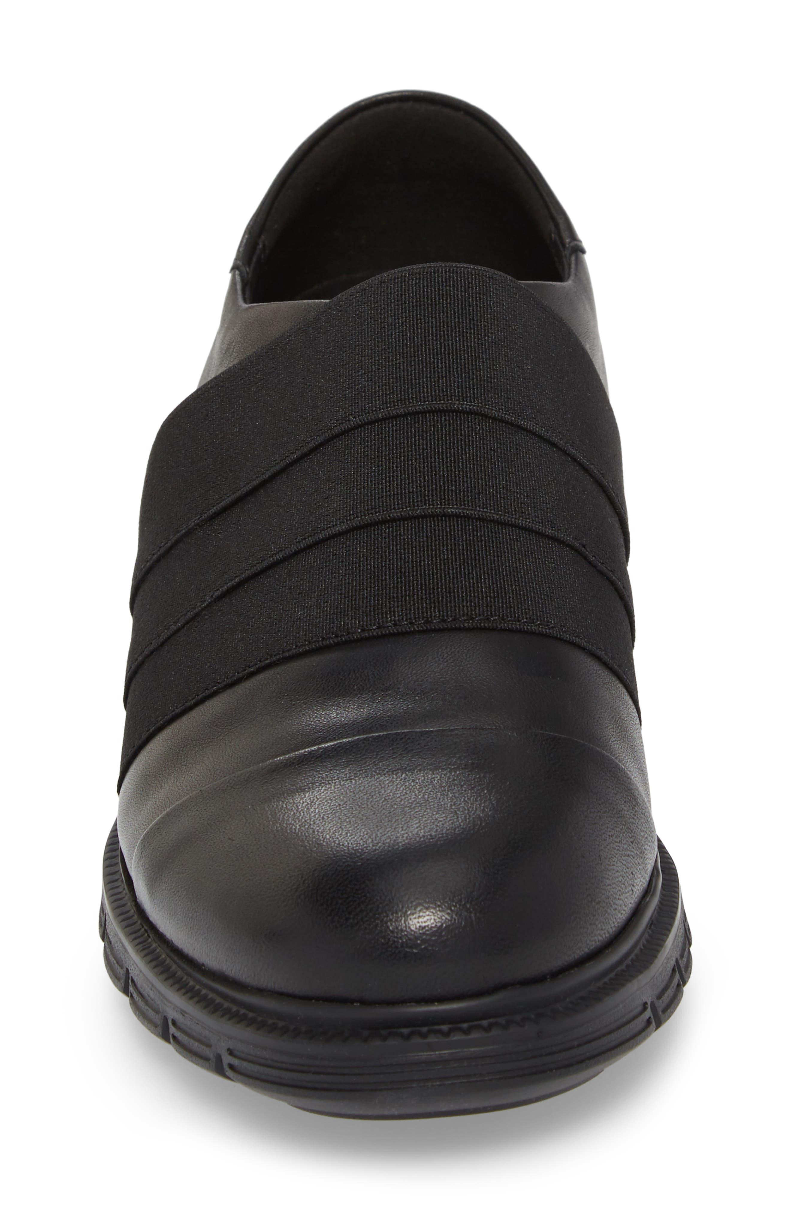 Grace Slip-On Sneaker,                             Alternate thumbnail 4, color,                             001