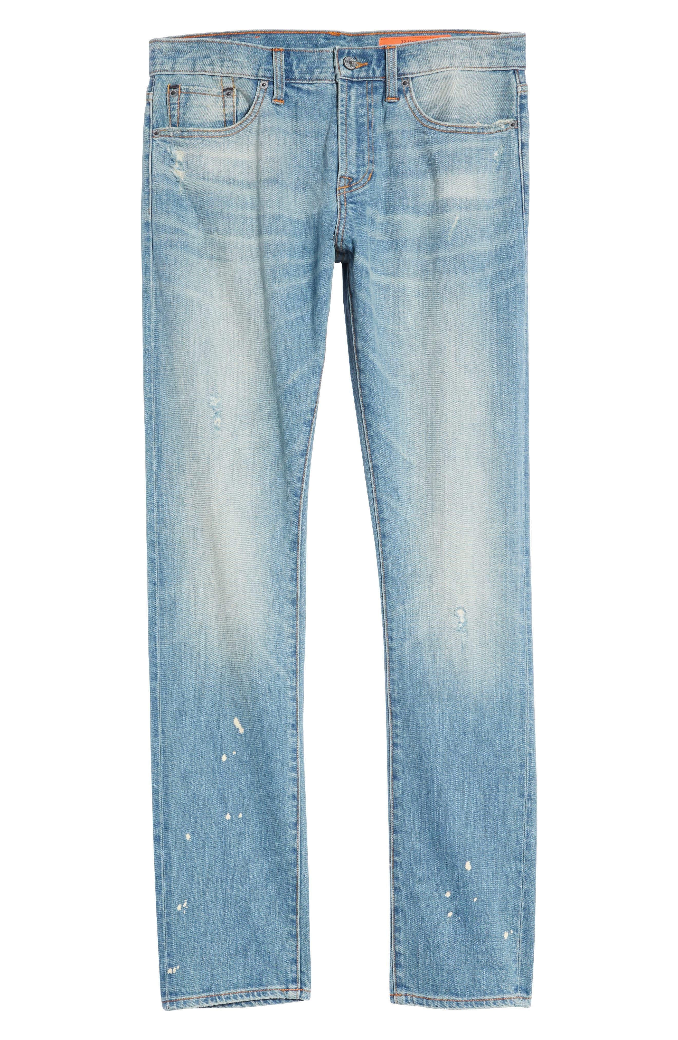 Jim Slim Fit Jeans,                             Alternate thumbnail 6, color,                             HOLLIS